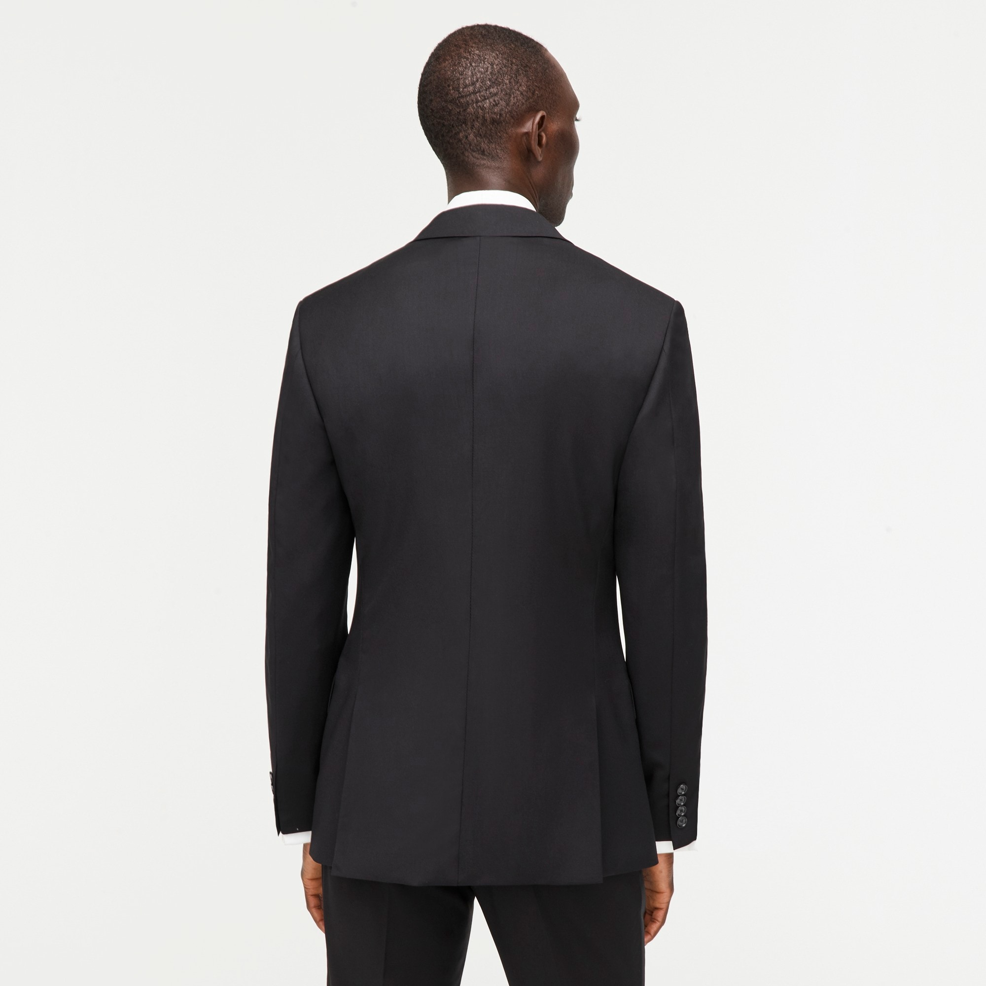 Ludlow double-breasted tuxedo jacket in Italian wool