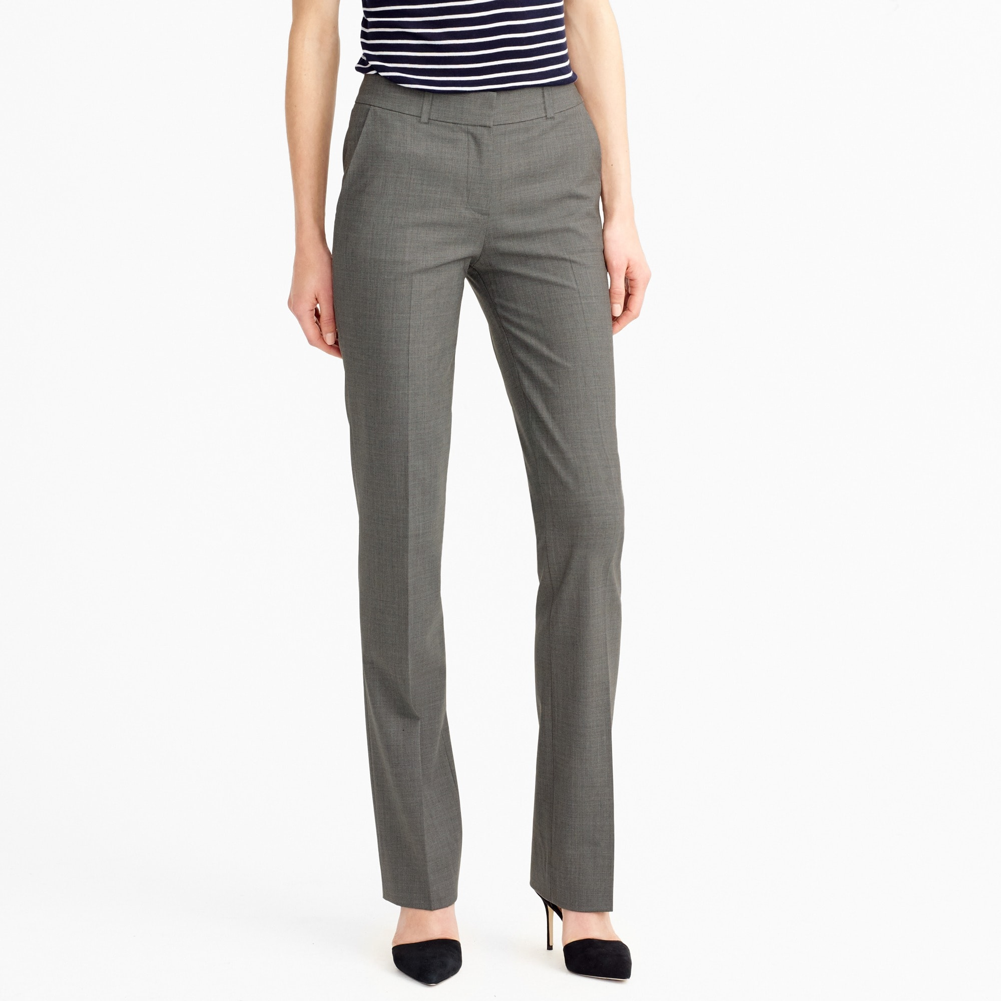 Lined Campbell trouser in Italian stretch wool