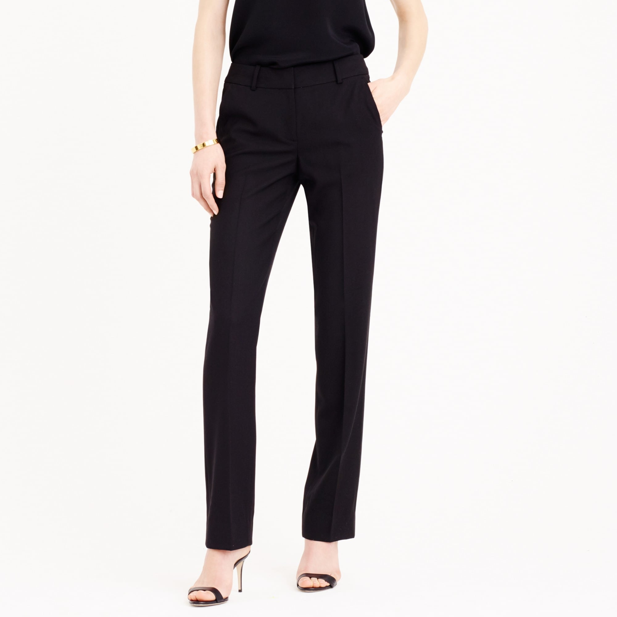 campbell traveler trouser in italian wool : women's suiting