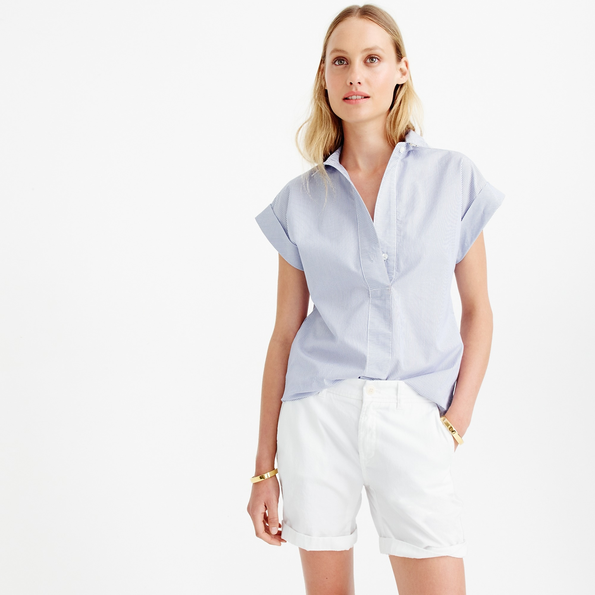 Sunday slim chino short : Women solid | J.Crew