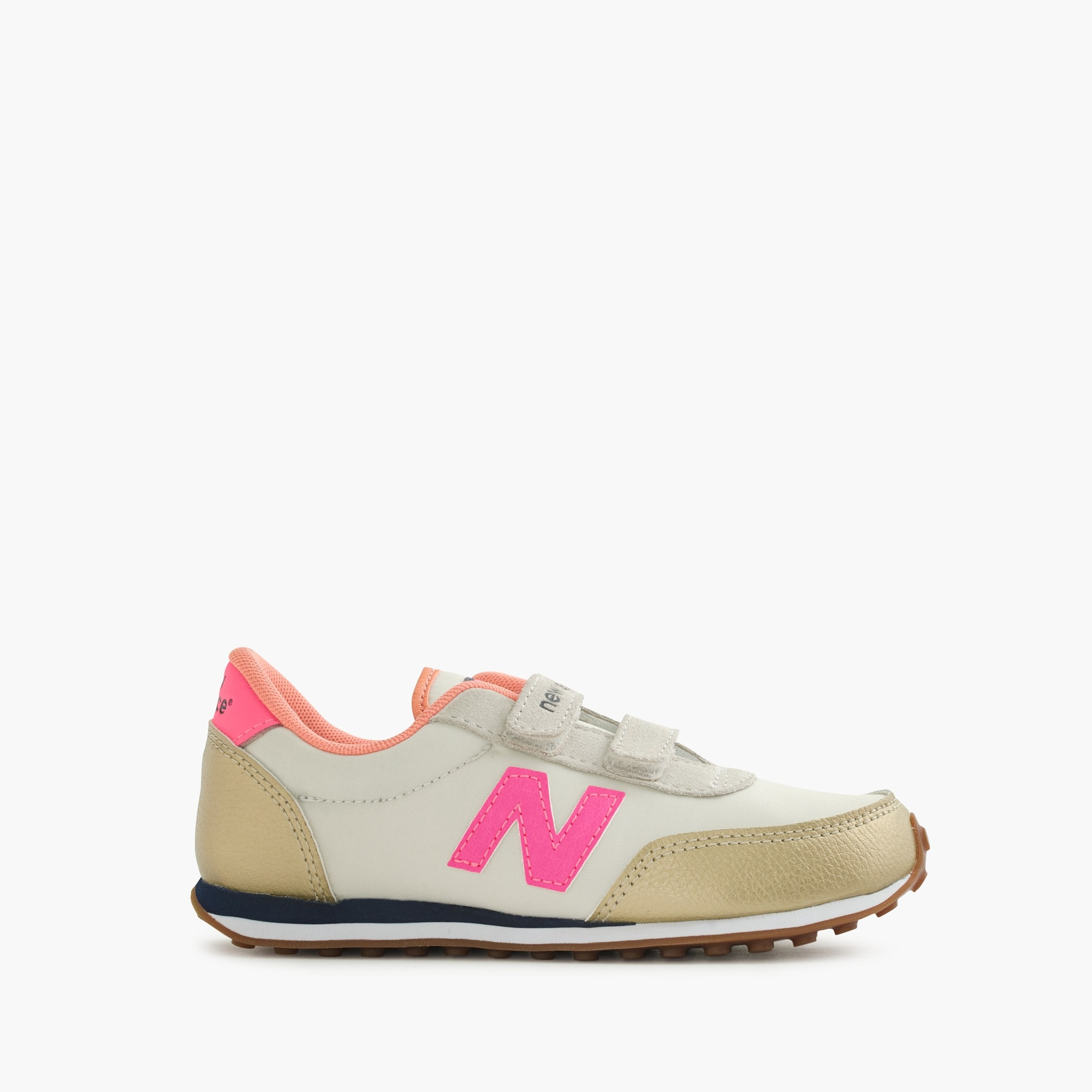 Girls' New Balance for crewcuts 410 sneakers in metallic girl shoes & sneakers c