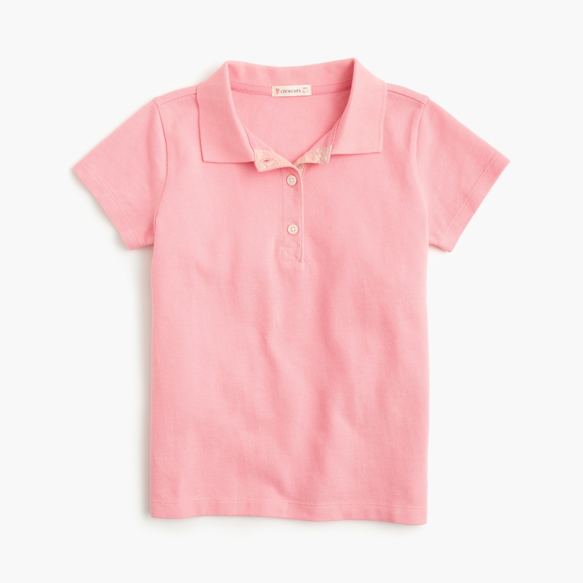 girls' piqu¿ polo shirt : girls' tees & tanks
