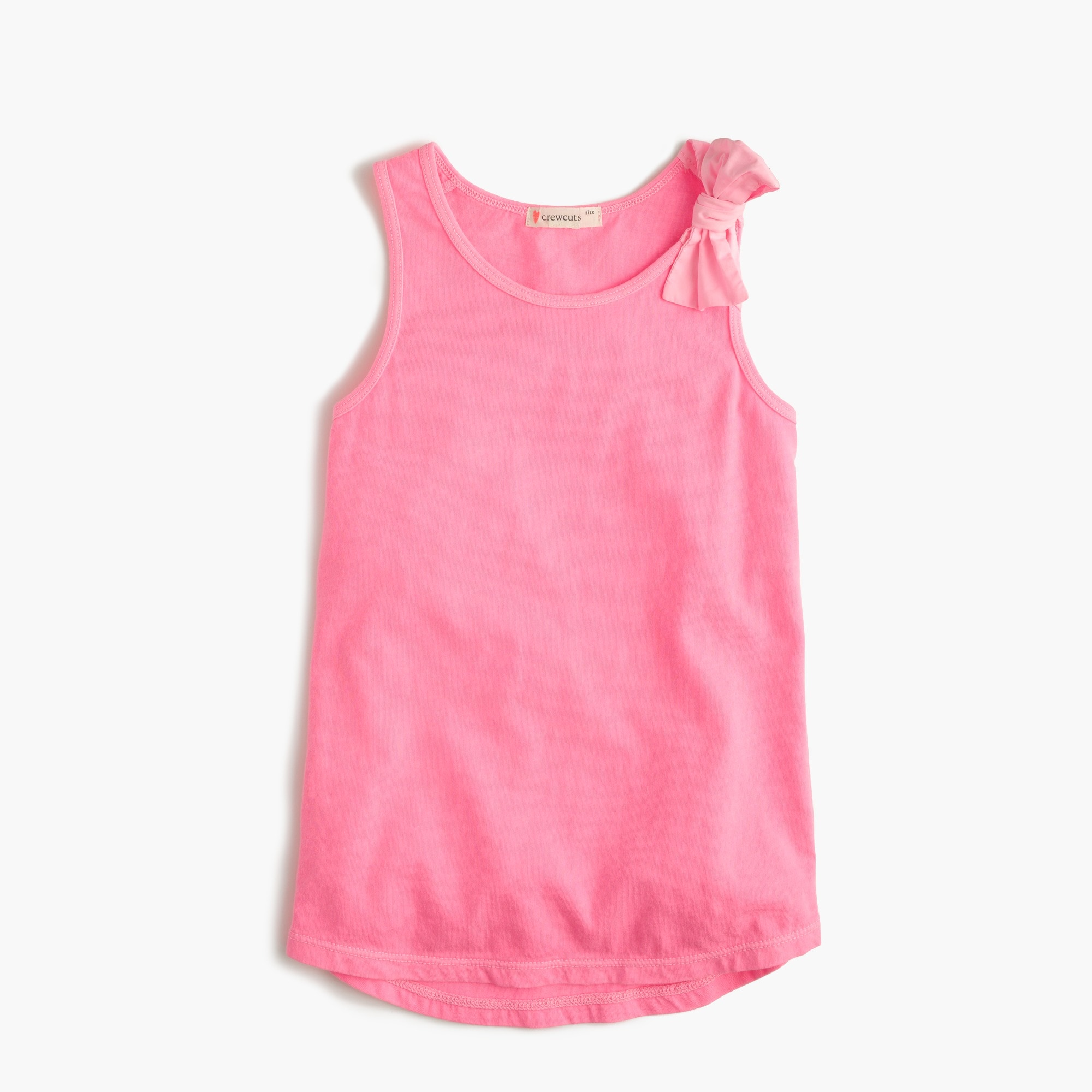 mixedproducts Girls' bow tank top