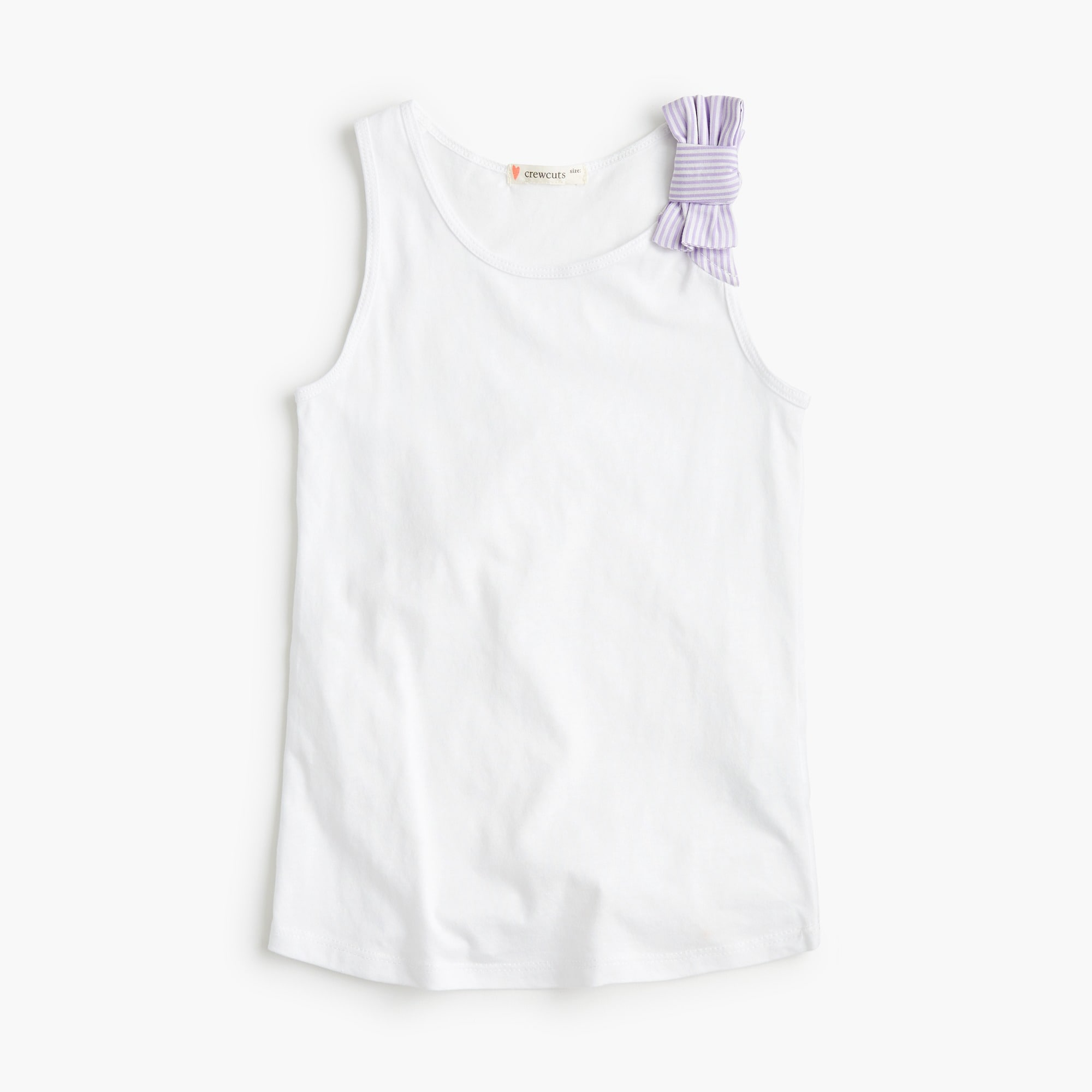 girls Girls' bow tank top