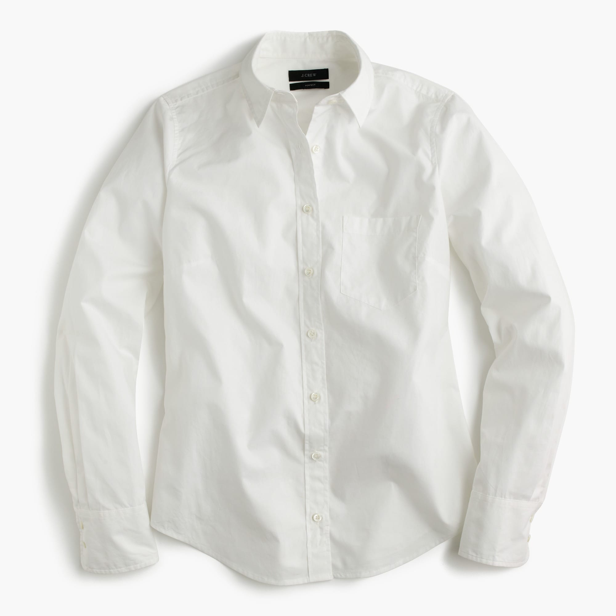Petite new perfect shirt in cotton poplin