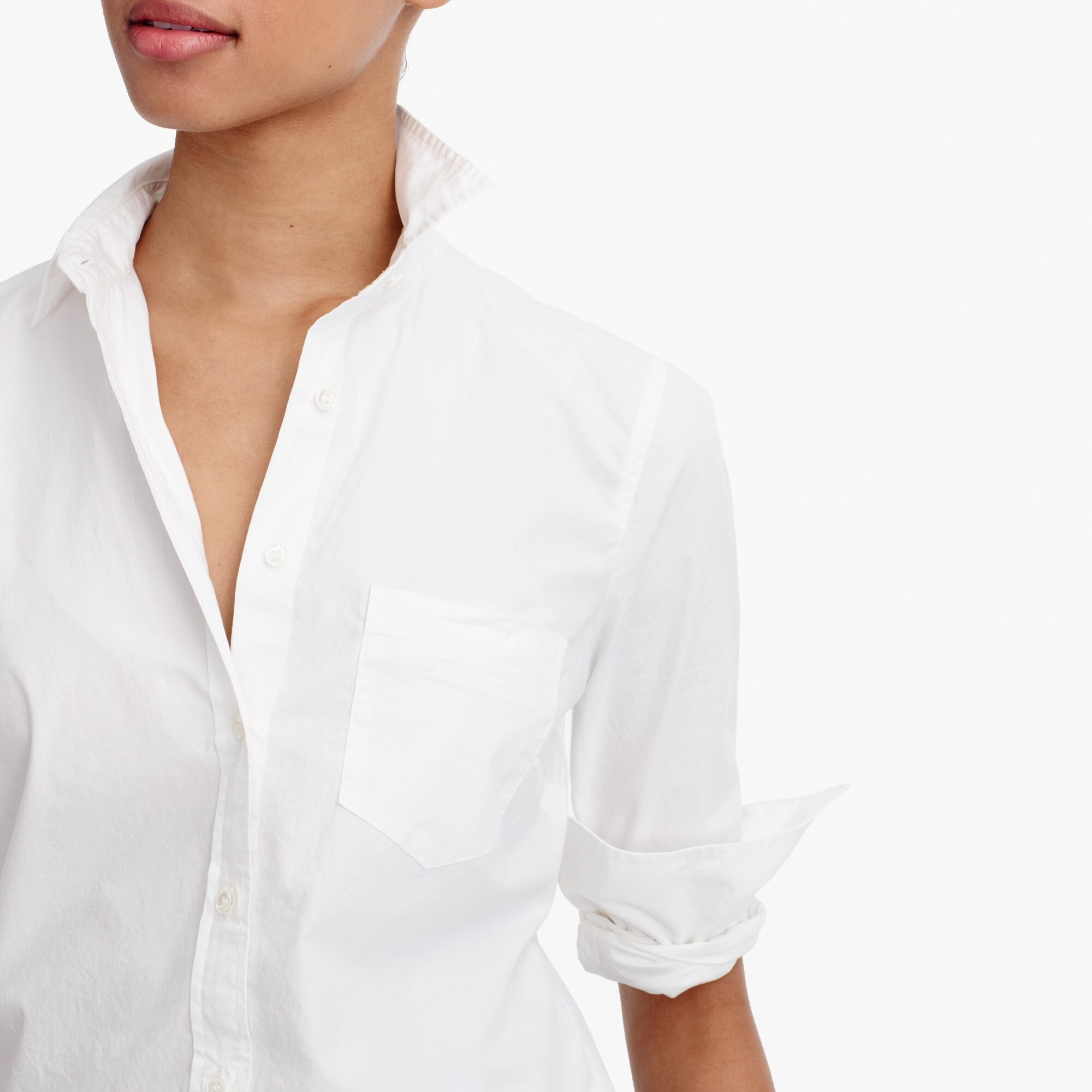 Image 3 for Petite new perfect shirt in cotton poplin