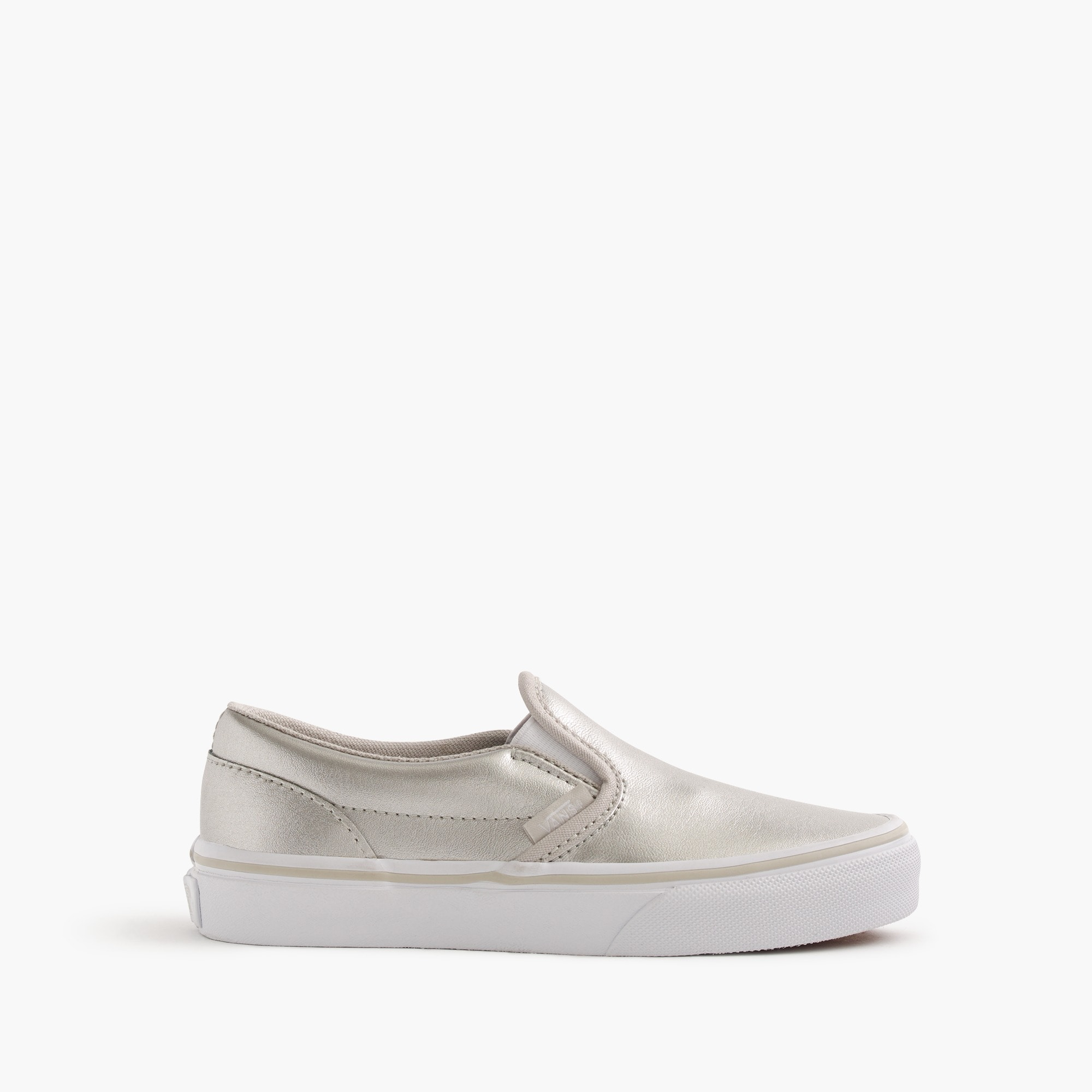Girls' Vans® classic slip-on sneakers girl j.crew in good company c