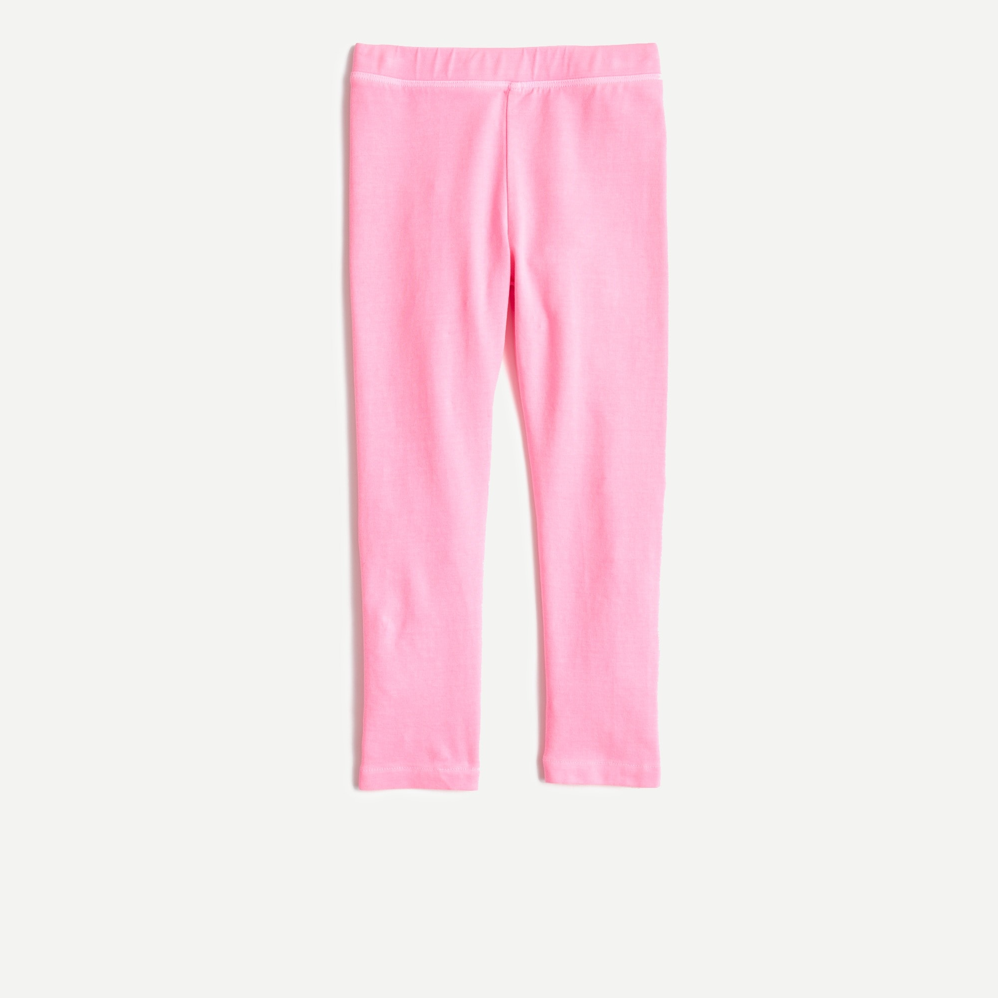 girls' cropped everyday leggings - girls' pants