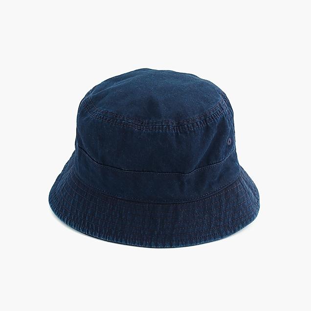 d9cc1f76f4a98 Japanese cotton bucket hat in indigo   Men hats