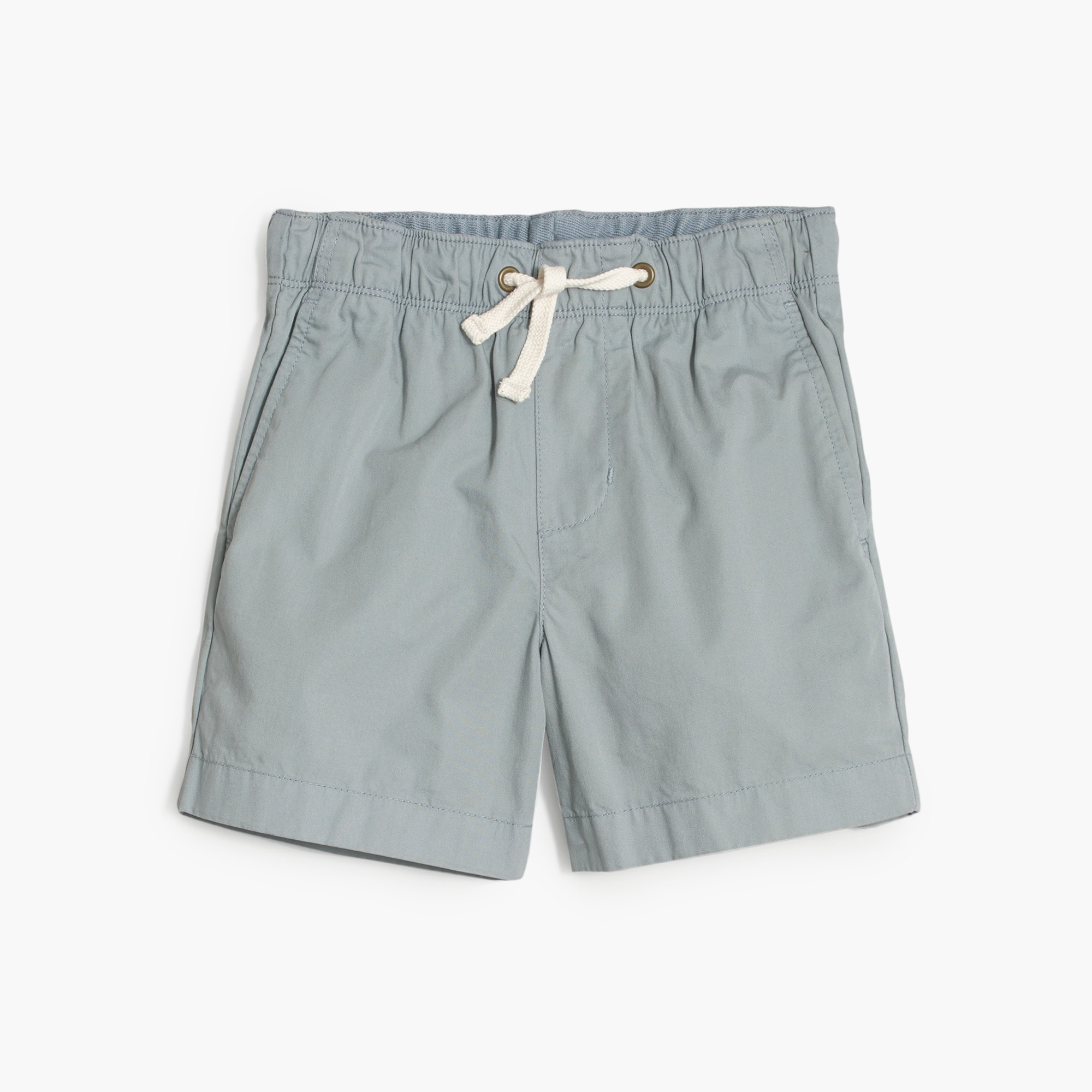 boys' dock short in garment-dyed chino : boys' shorts