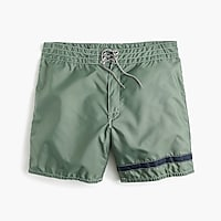 Birdwell® for J.Crew board short in single stripe