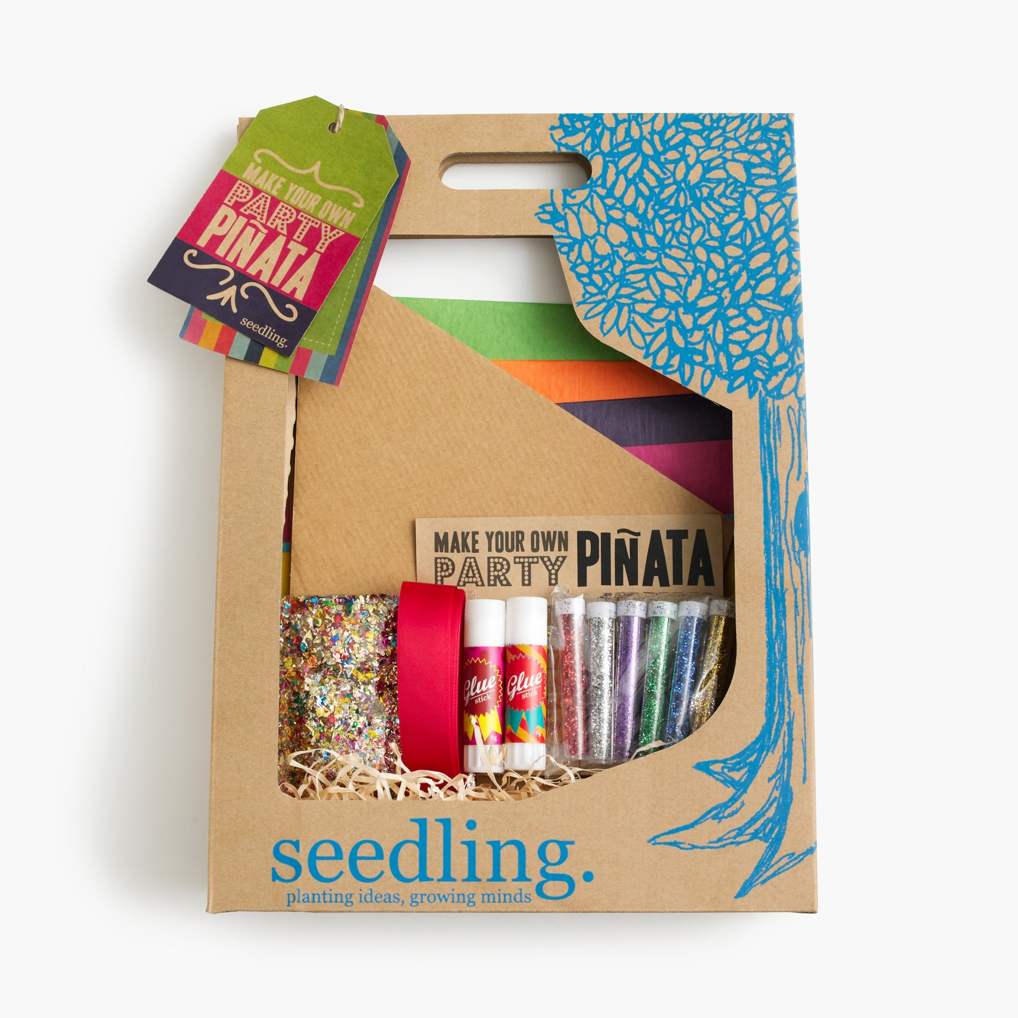 "Kids' Seedling ""make your own party"" piñata kit girl j.crew in good company c"