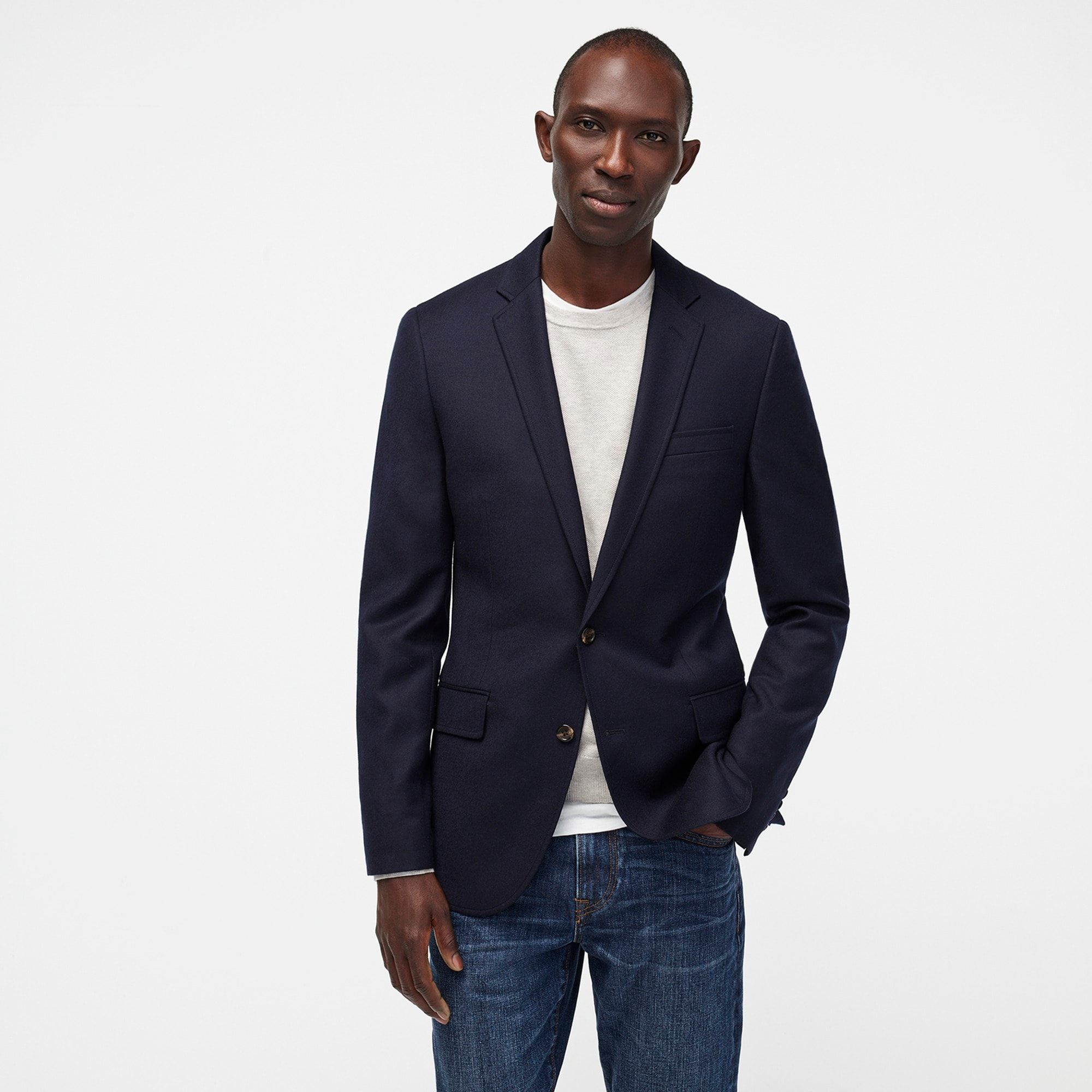 Ludlow Legacy blazer in American wool men blazers & vests c