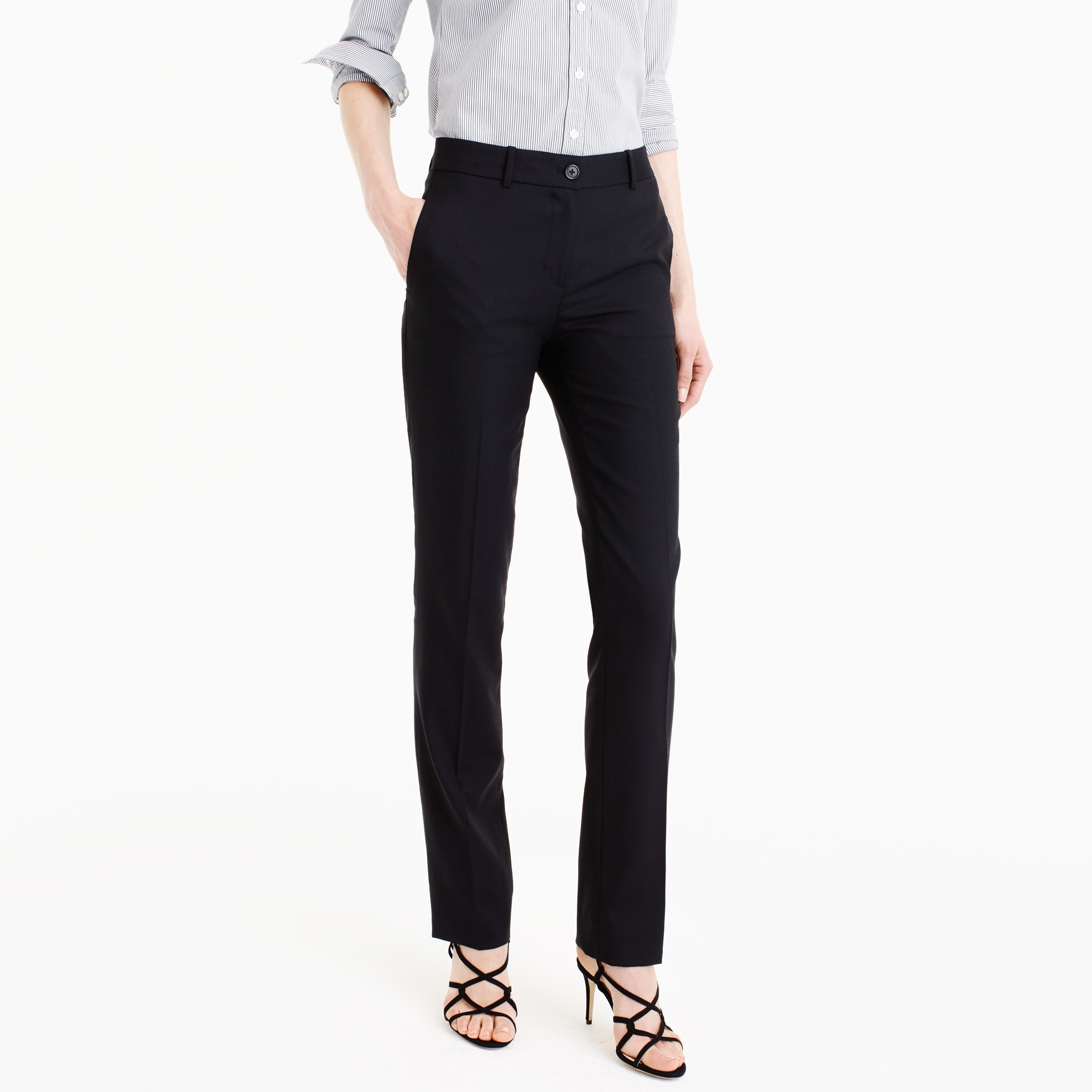 regent pant in super 120s wool : women's suit pants