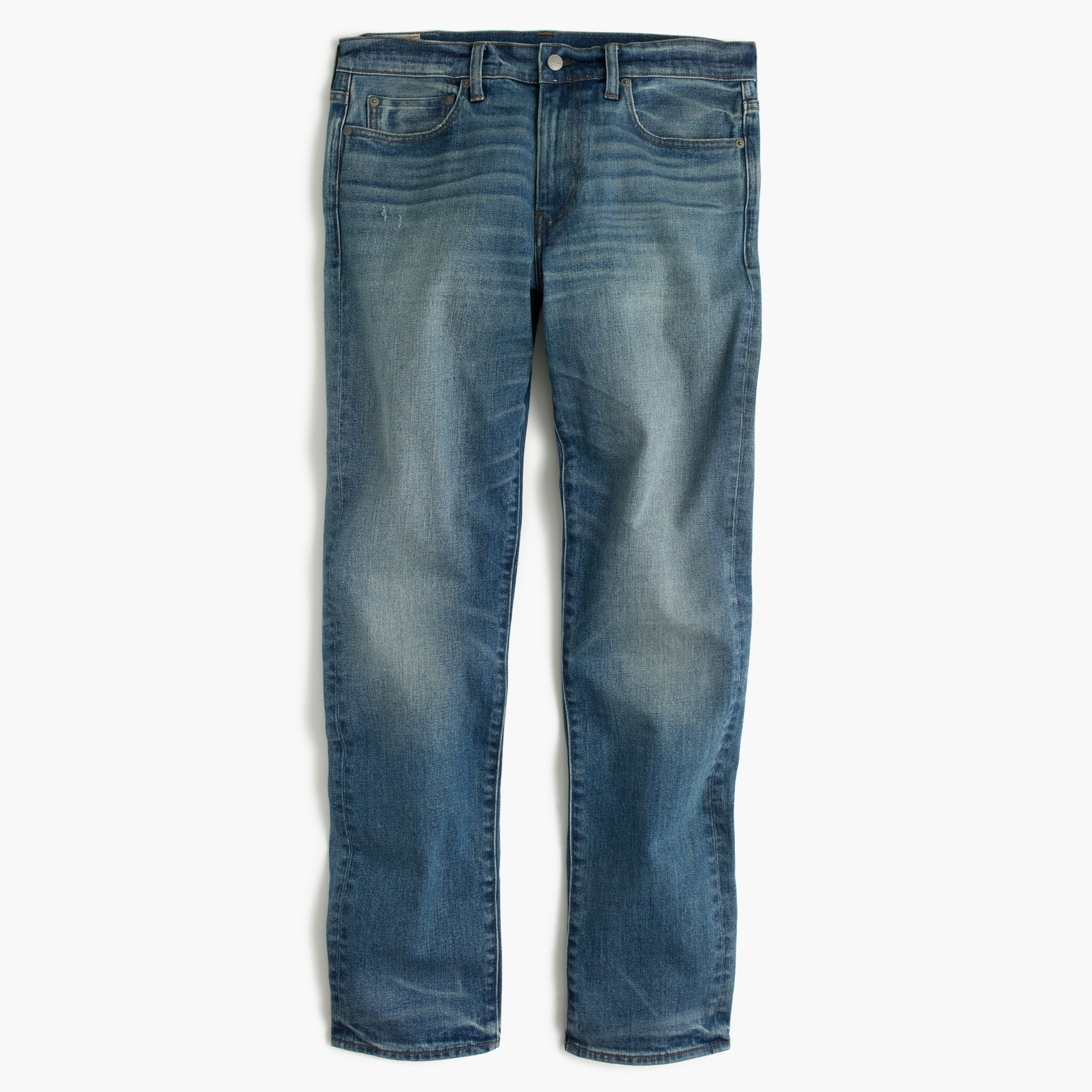 770 Straight-fit stretch jean in Whitford wash