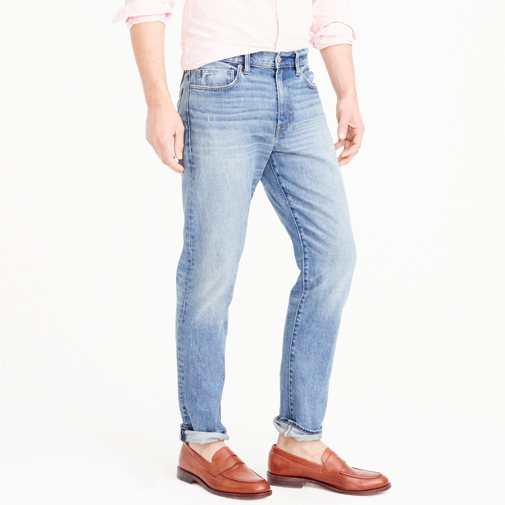 Image 3 for 770 Straight-fit stretch jean in Whitford wash