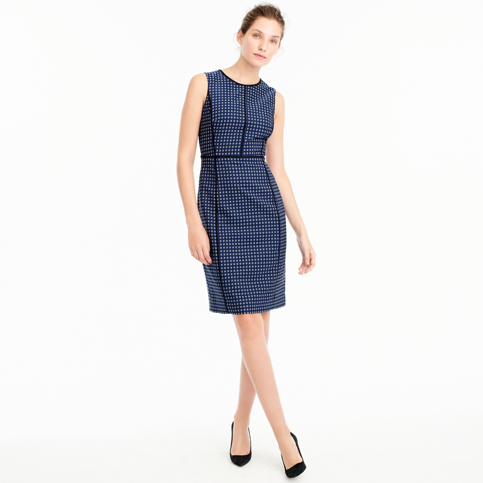 Paneled sheath dress women suiting c