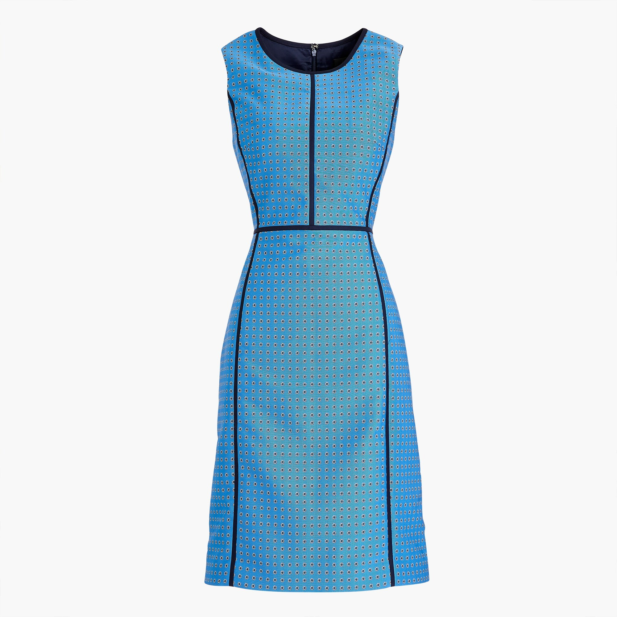 Image 2 for Petite paneled sheath dress