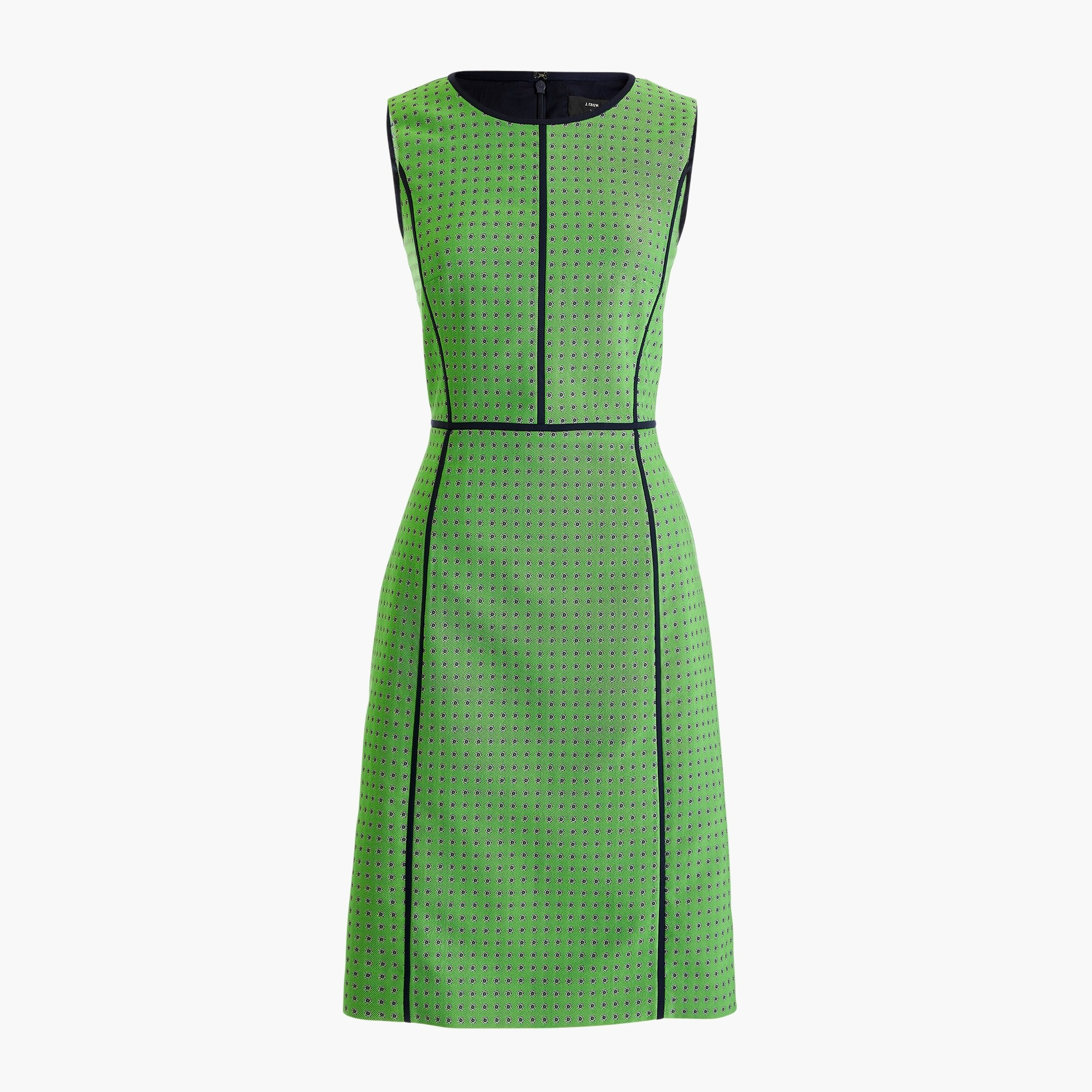 Image 6 for Petite paneled sheath dress