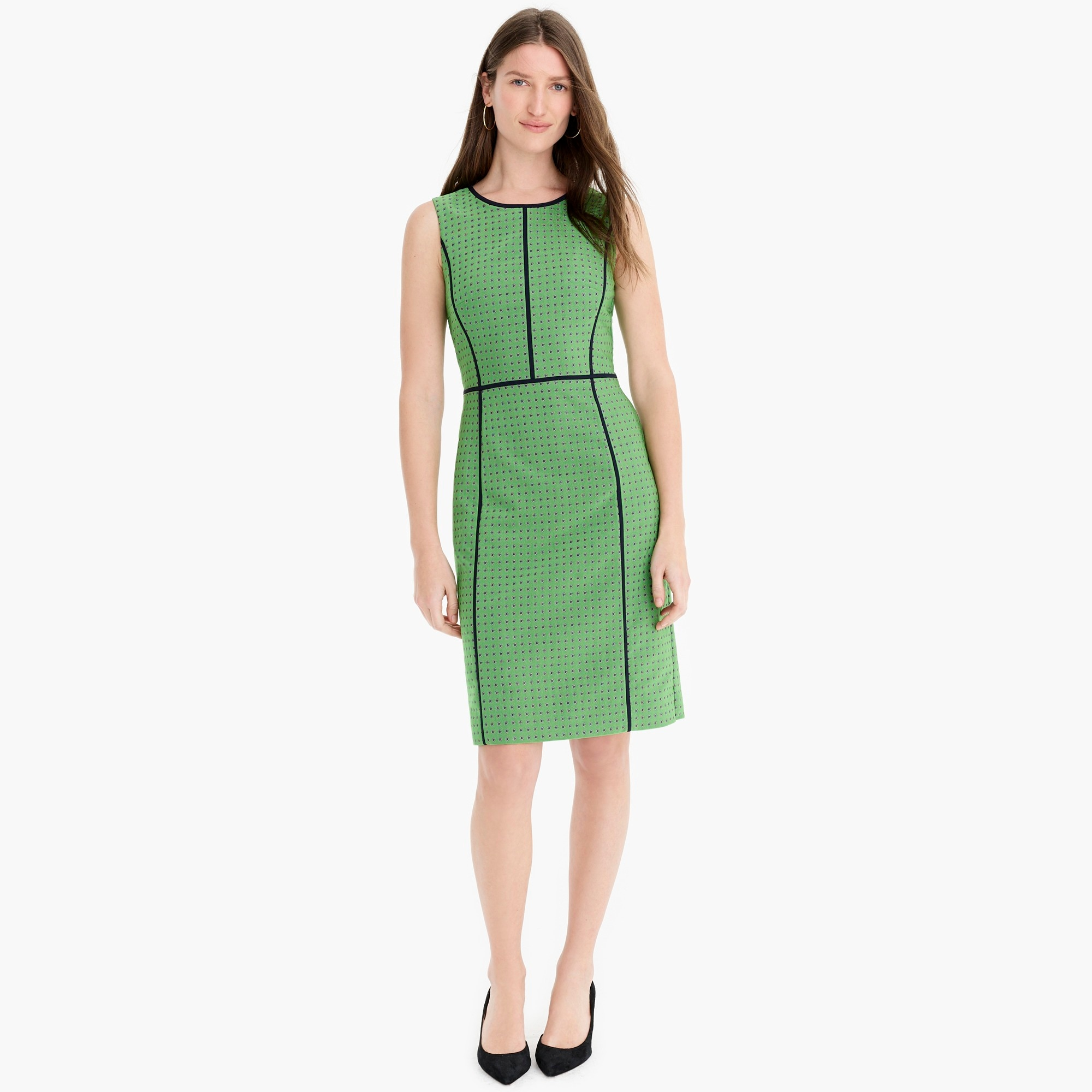 Image 3 for Petite paneled sheath dress