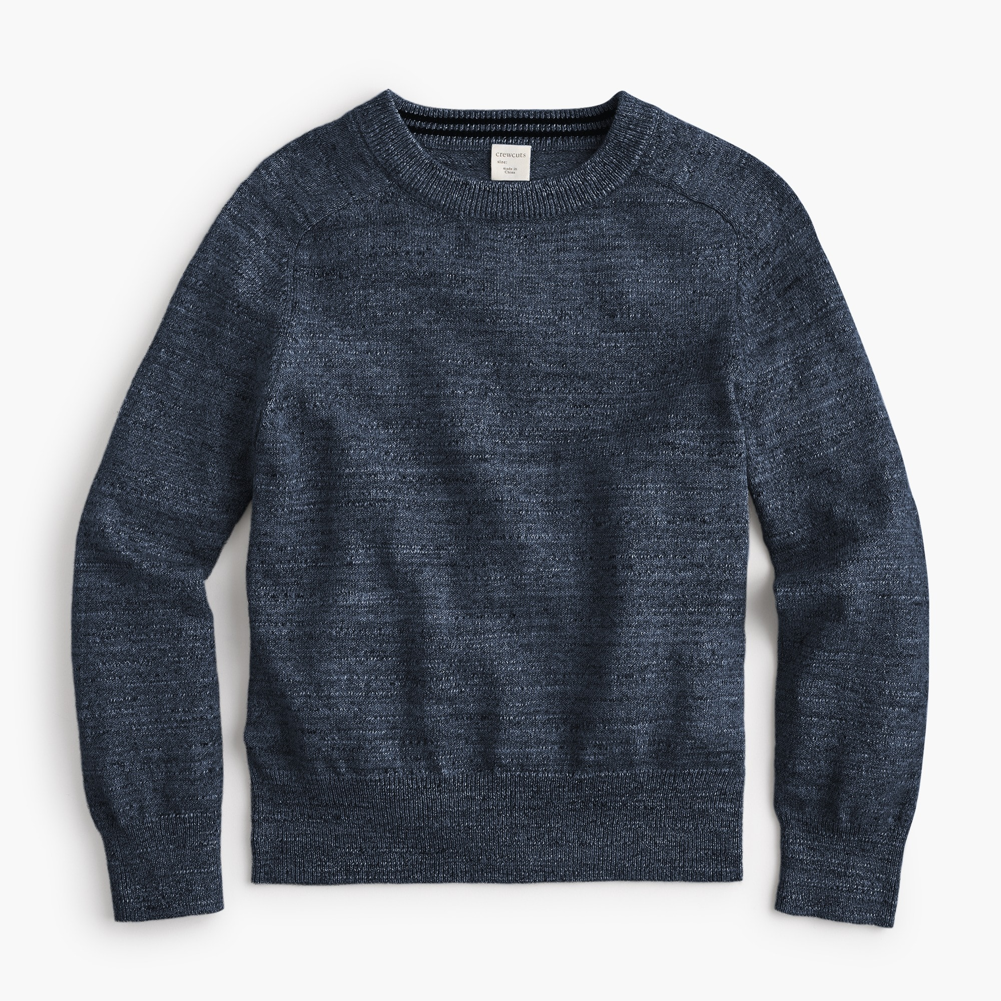 boys Boys' cotton crewneck sweater