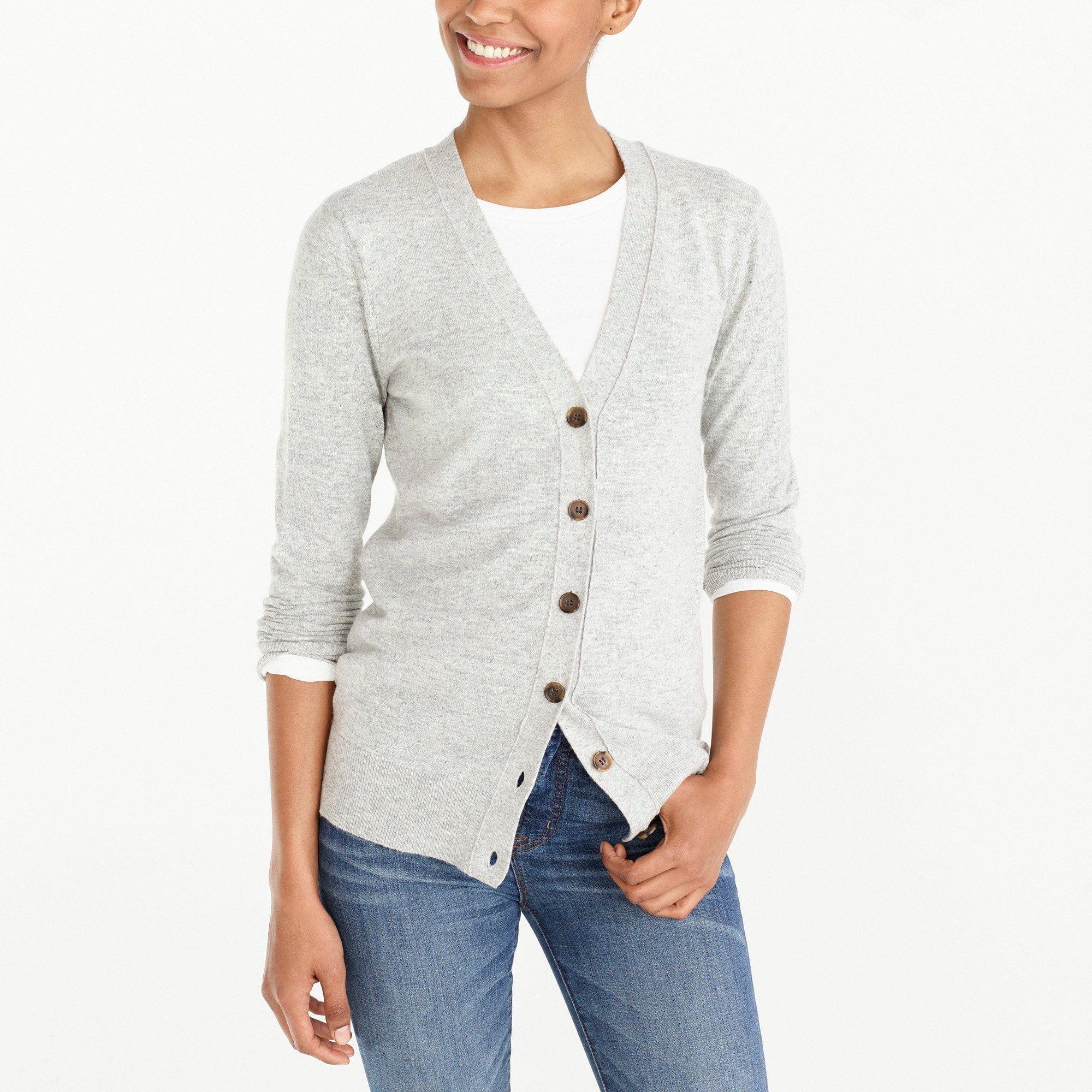 womens J.Crew Mercantile V-neck cardigan sweater