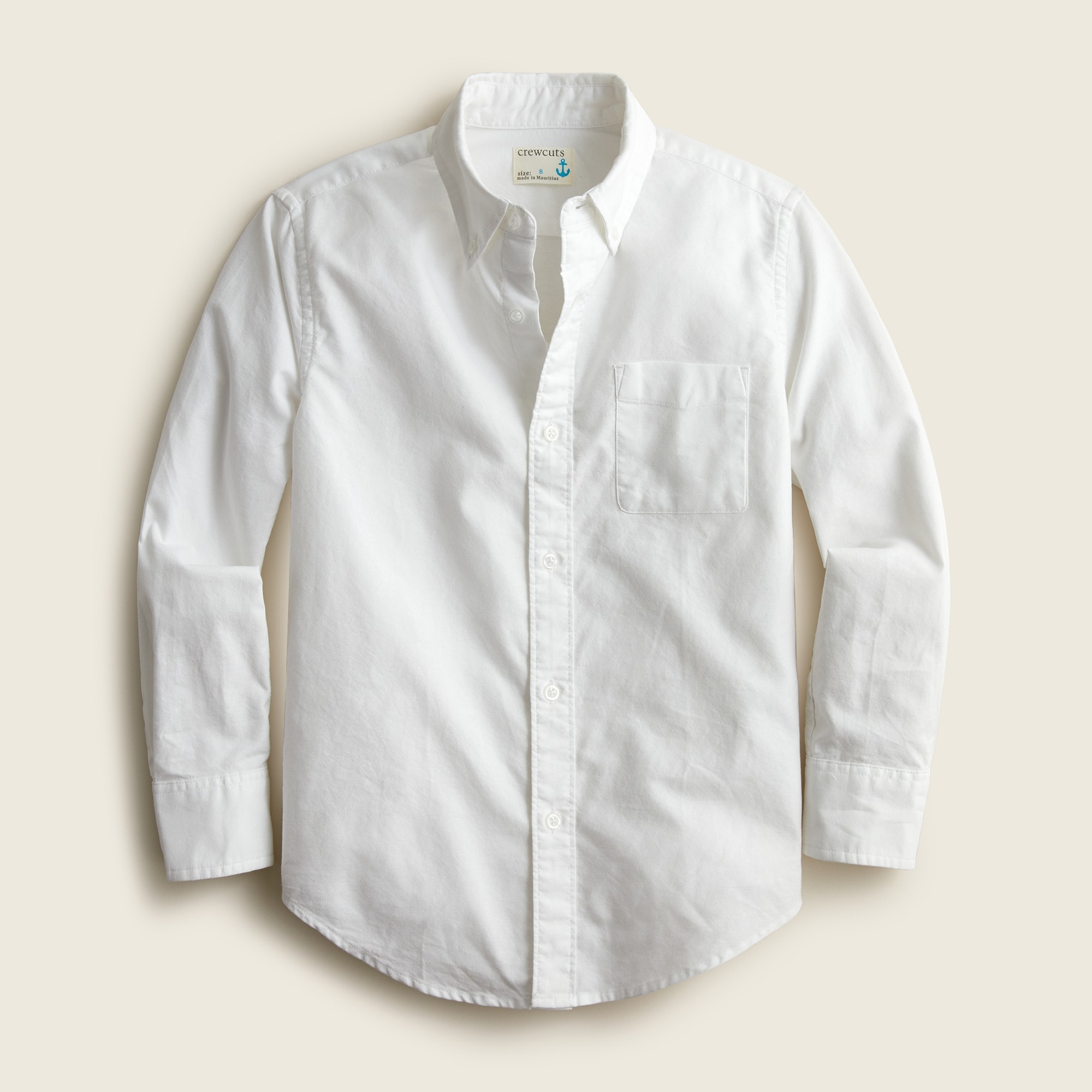 boys' oxford cotton shirt - boys' shirts