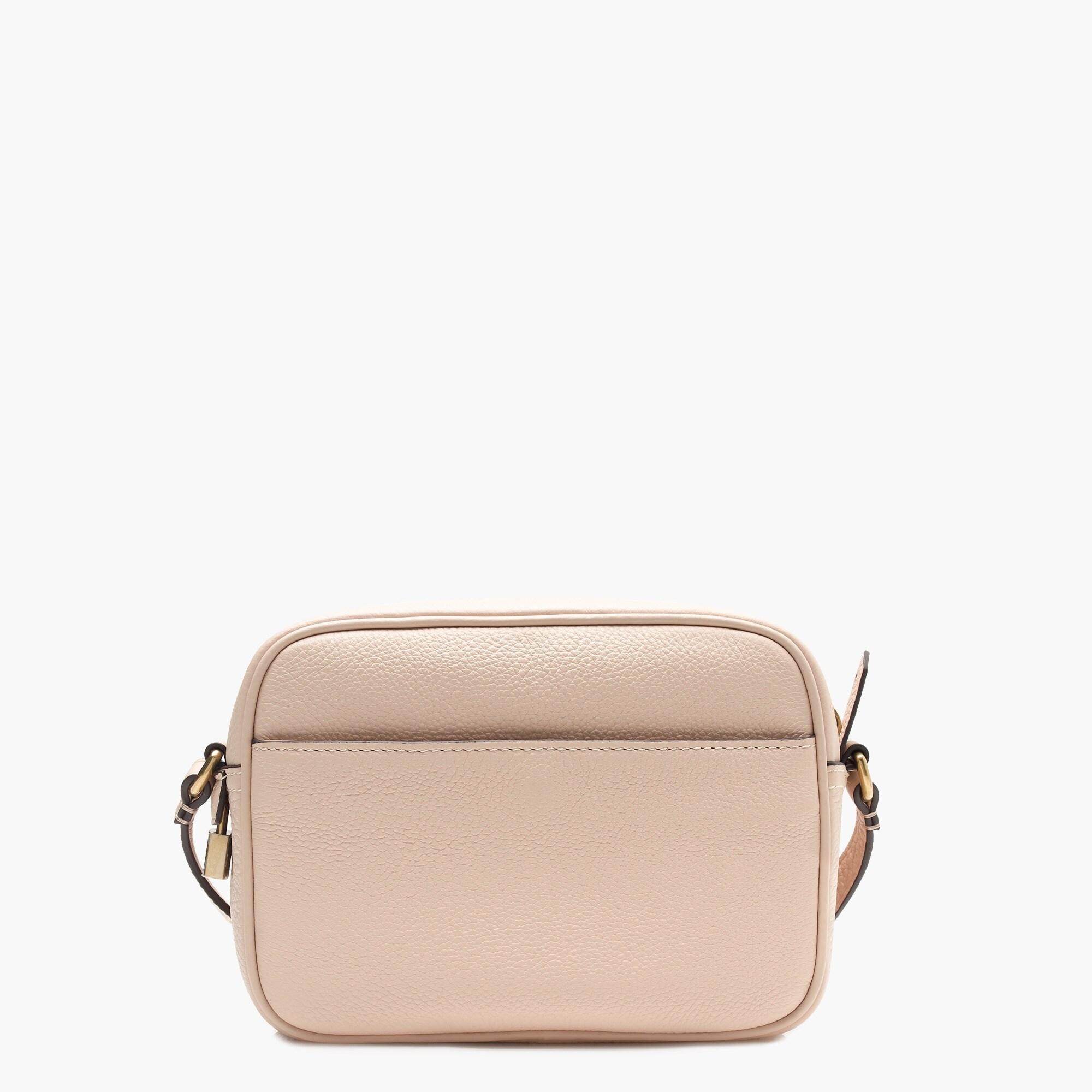 signet bag in italian leather : women's crossbody bags