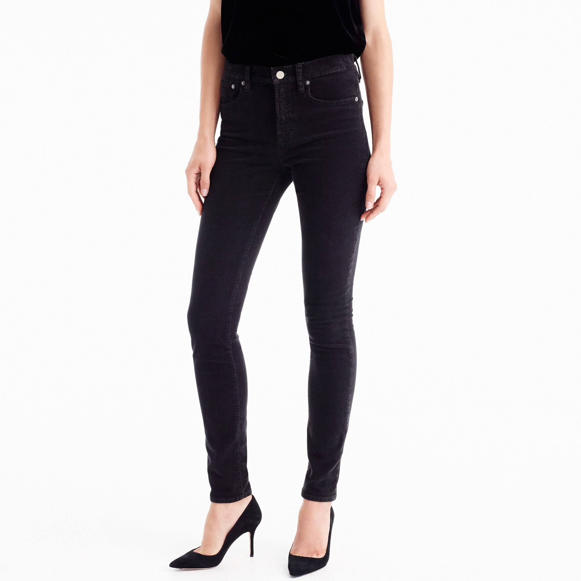 tall lookout high-rise cord : women's corduroy pants