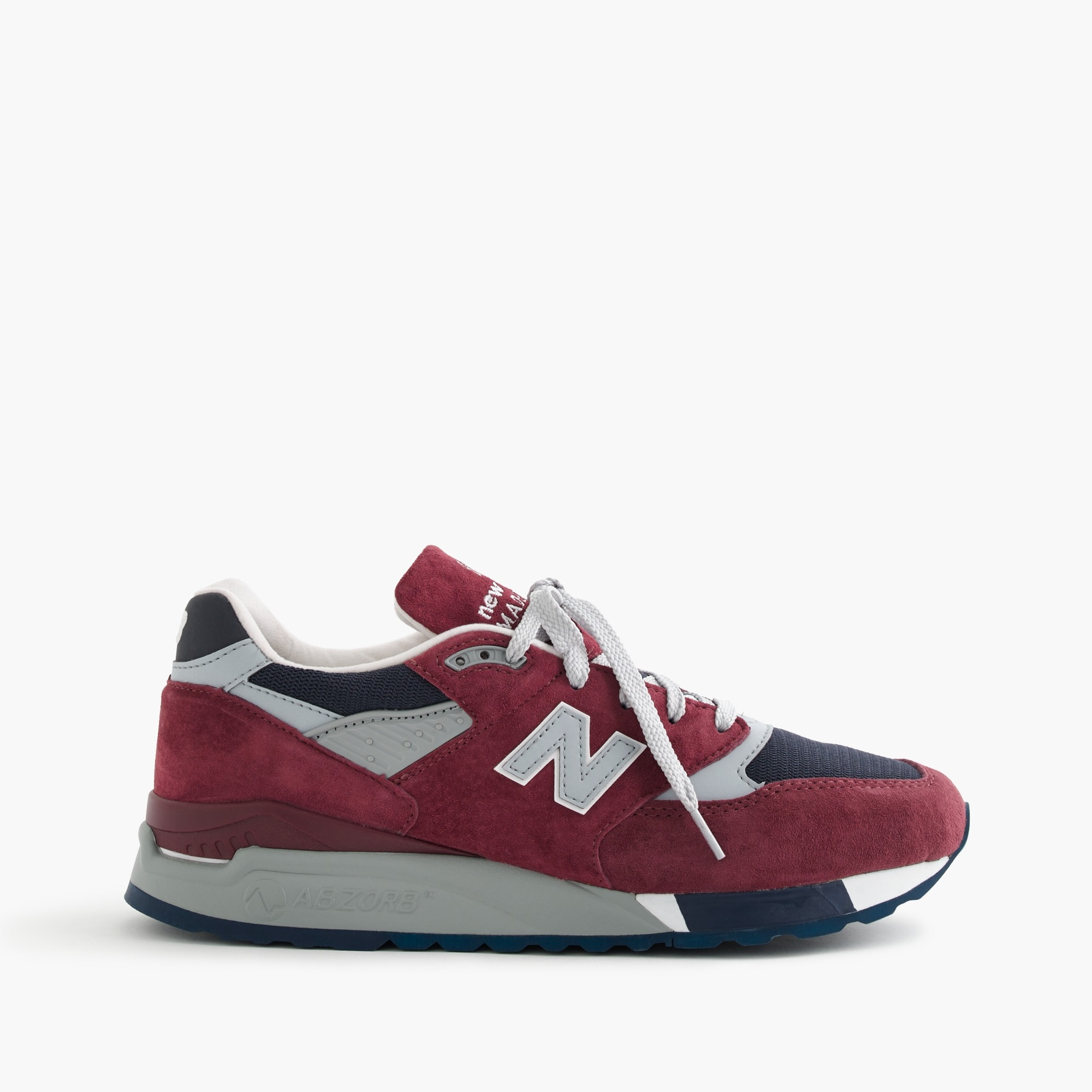 new balance for j.crew 998 port sneakers : men's sneakers