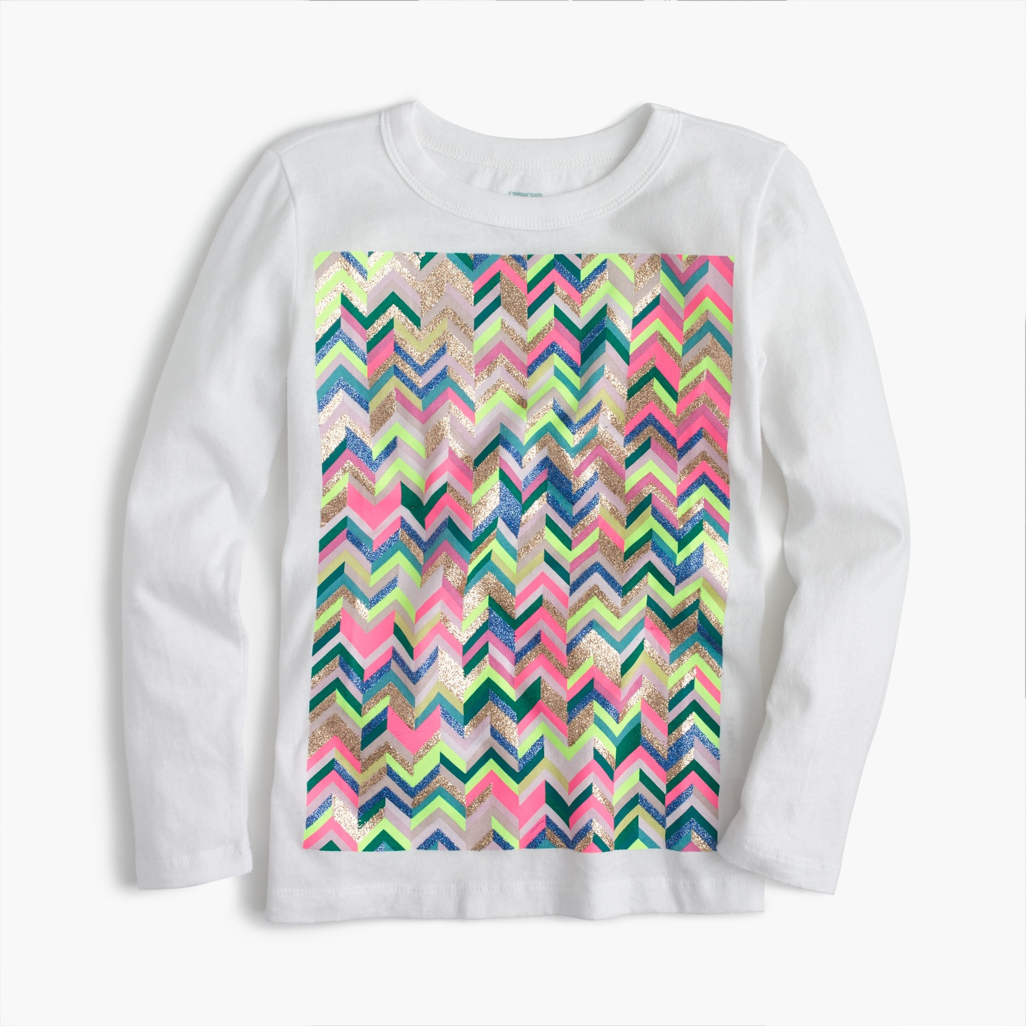 girls' zigzag t-shirt : girls' tees