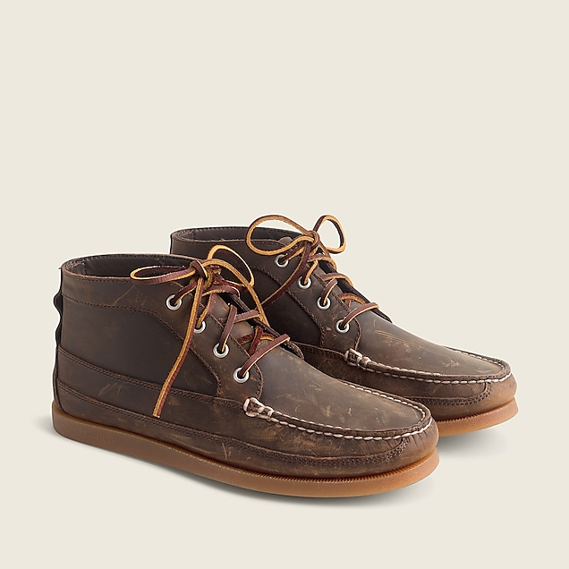 Sperry® for J.Crew chukka boots