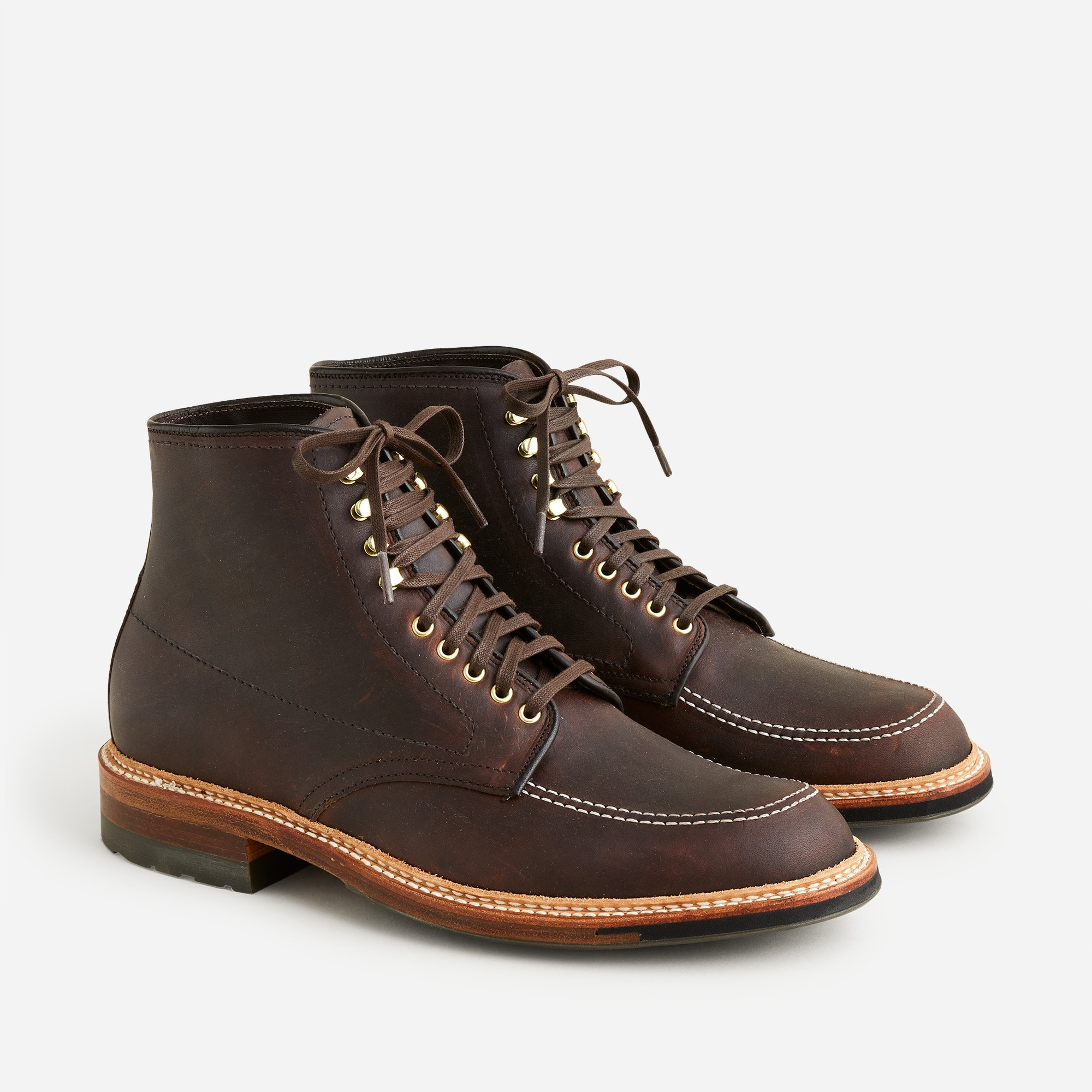 Alden® for J.Crew 405 Indy boots in kudu leather men j.crew in good company c