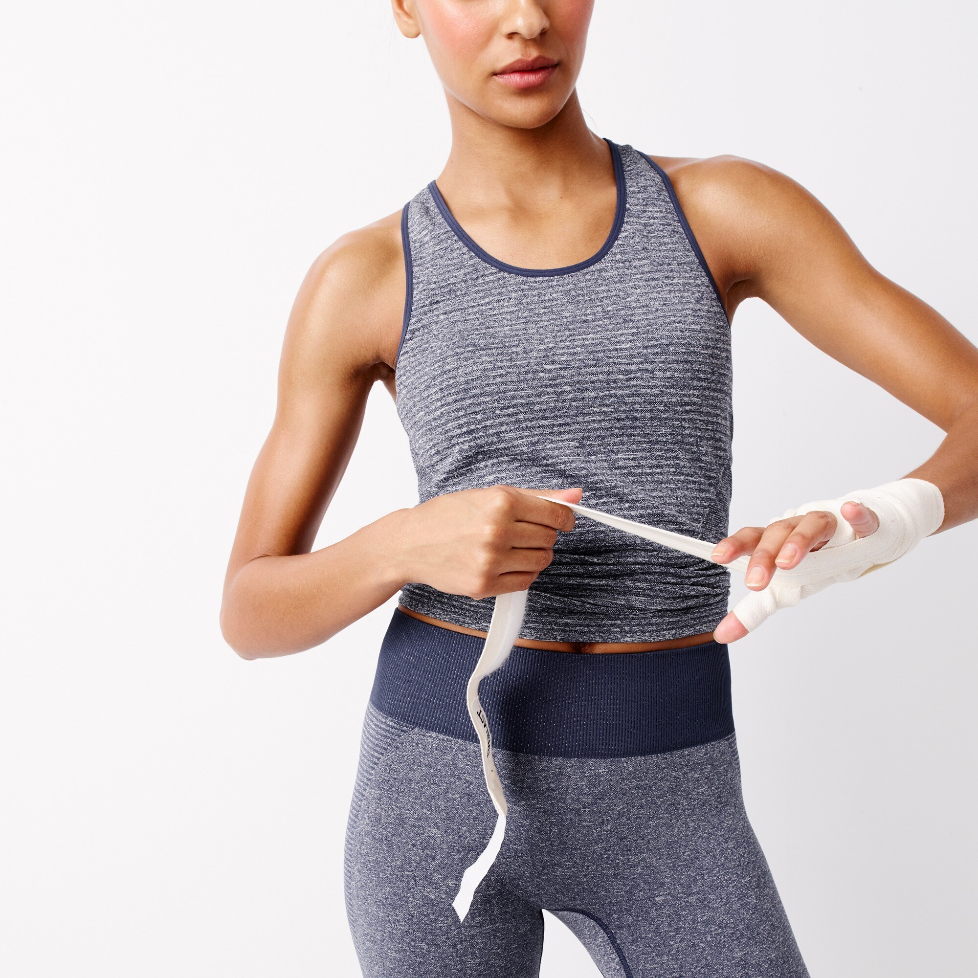 women's new balance® for j.crew seamless tank top