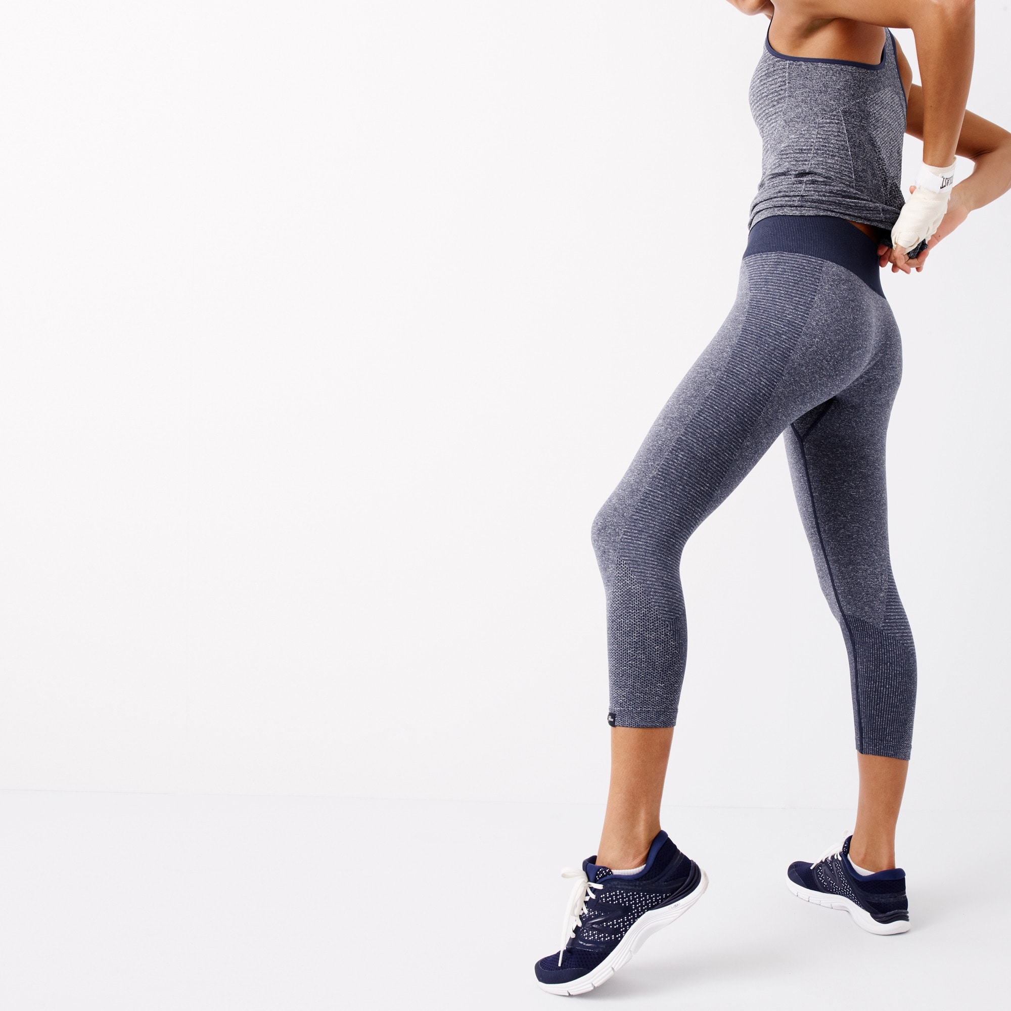 Image 3 for New Balance® for J.Crew seamless capri leggings