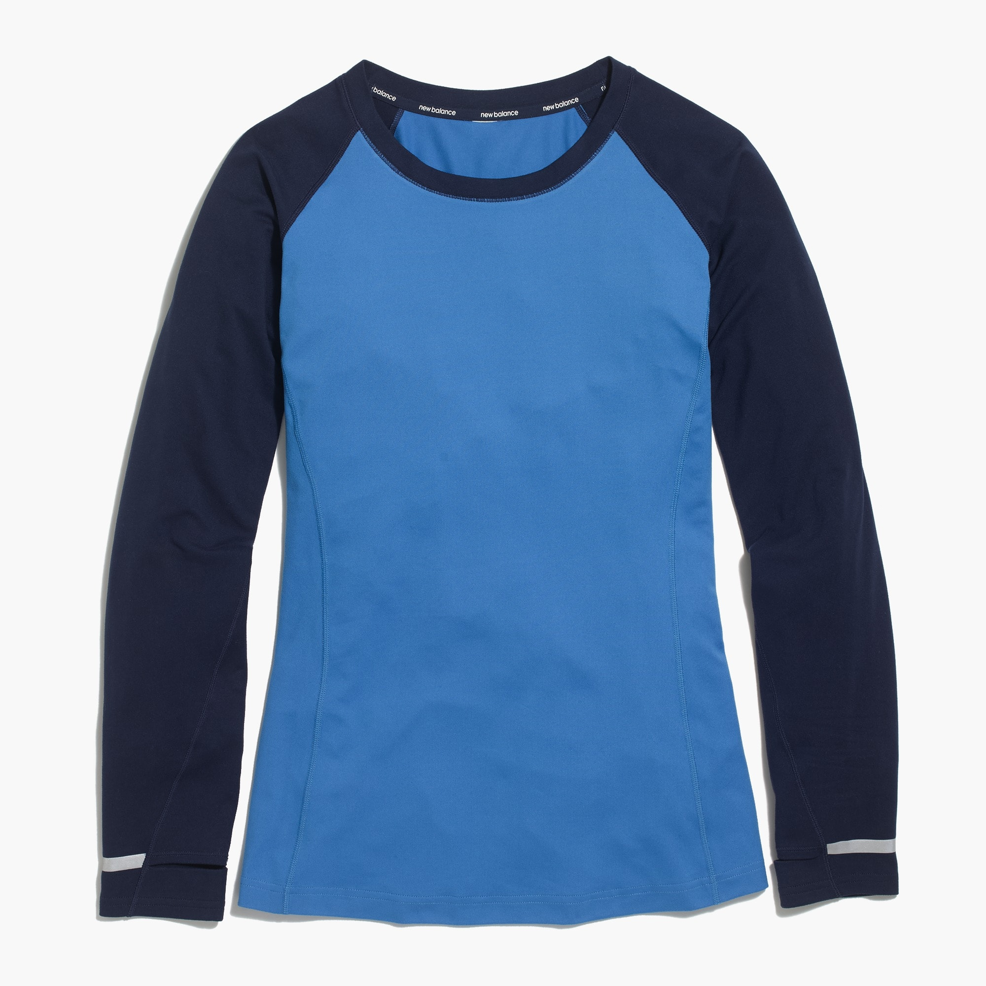 New Balance® for J.Crew in-transit long-sleeve T-shirt in colorblock
