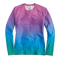 Rob Pruitt™ for J.Crew rash guard in rainbow multi