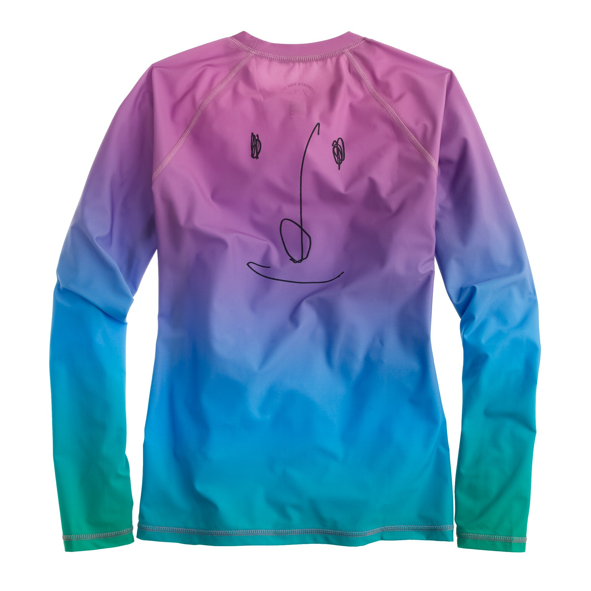 Image 4 for Rob Pruitt™ for J.Crew rash guard in rainbow multi