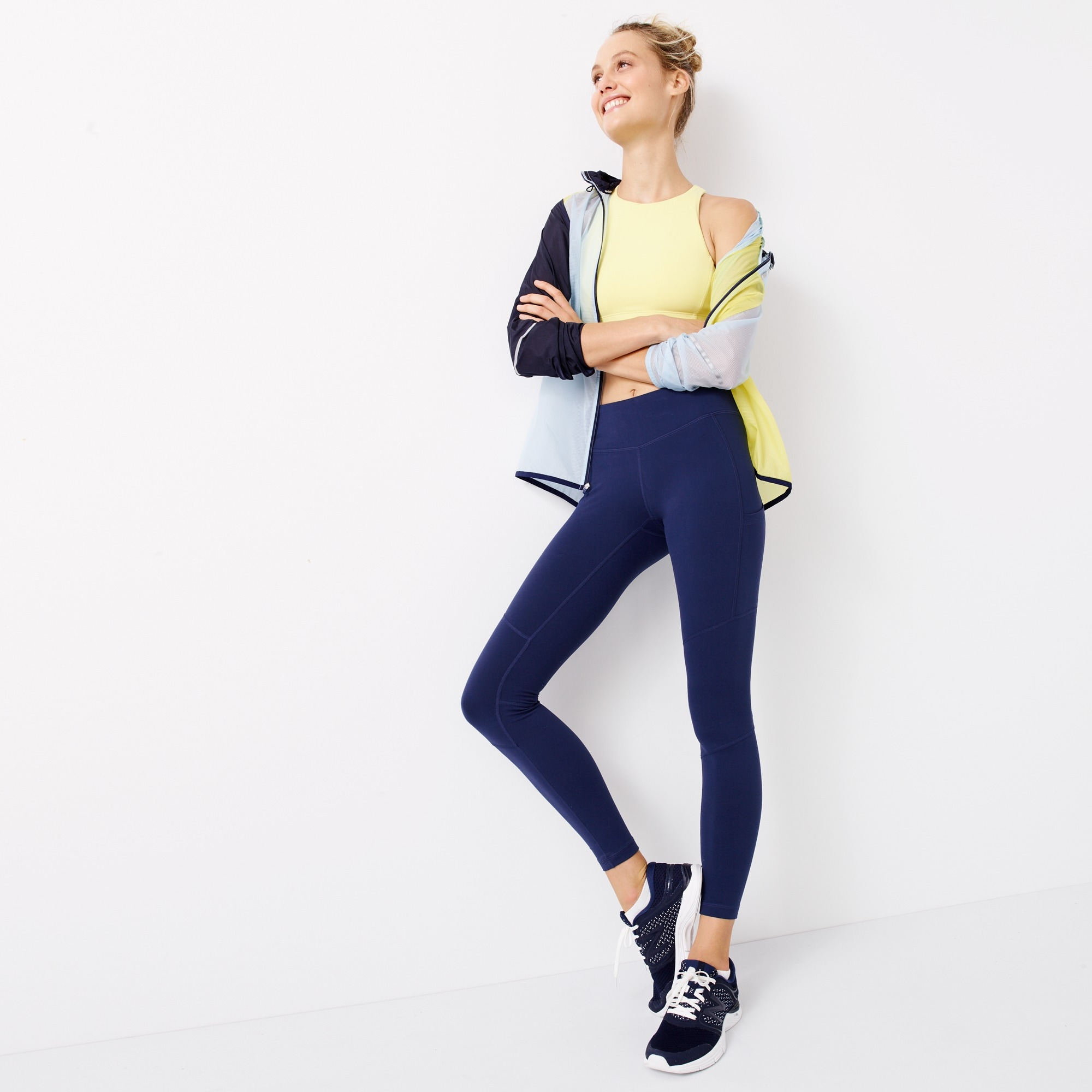 New Balance® for J.Crew performance leggings women j.crew in good company c