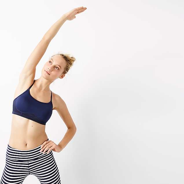 New Balance® for J.Crew sports bra