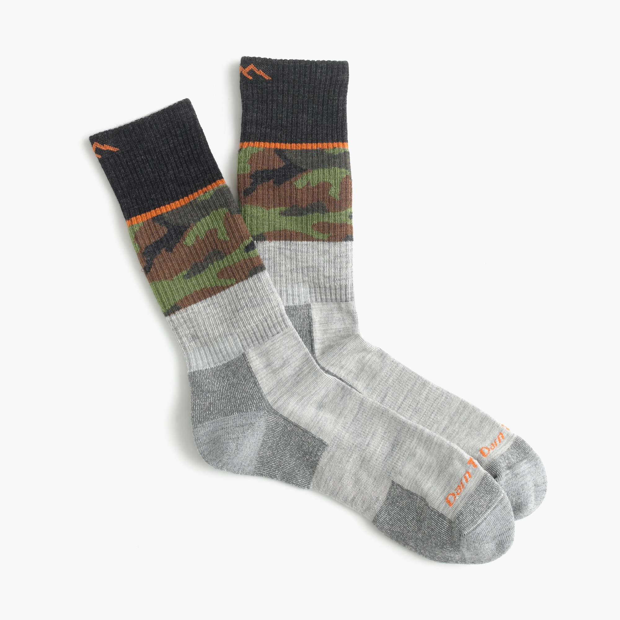darn tough vermont for j.crew striped camo socks : men's socks