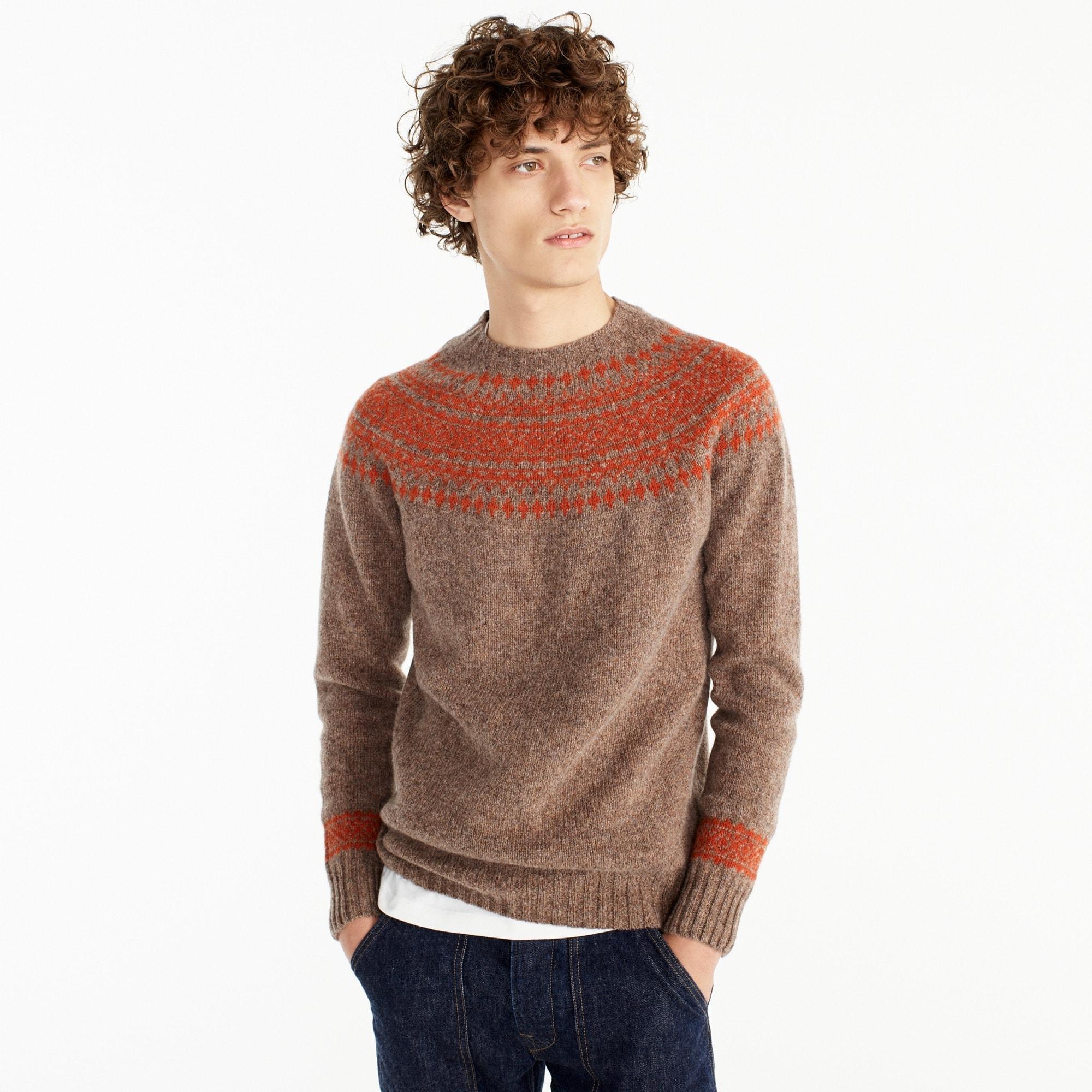 harley of scotland nor'easterly sweater : men's sweaters