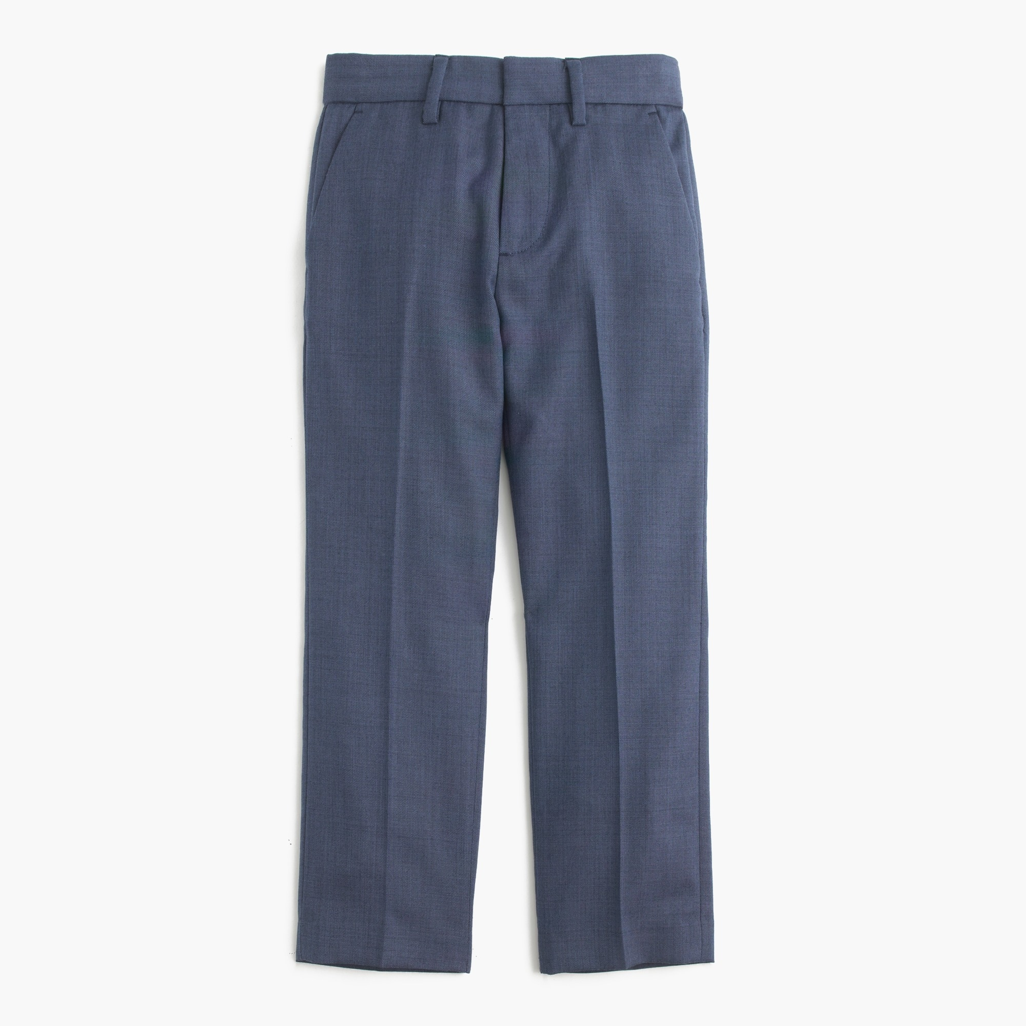 boys' slim ludlow suit pant in italian worsted wool : boys' suiting