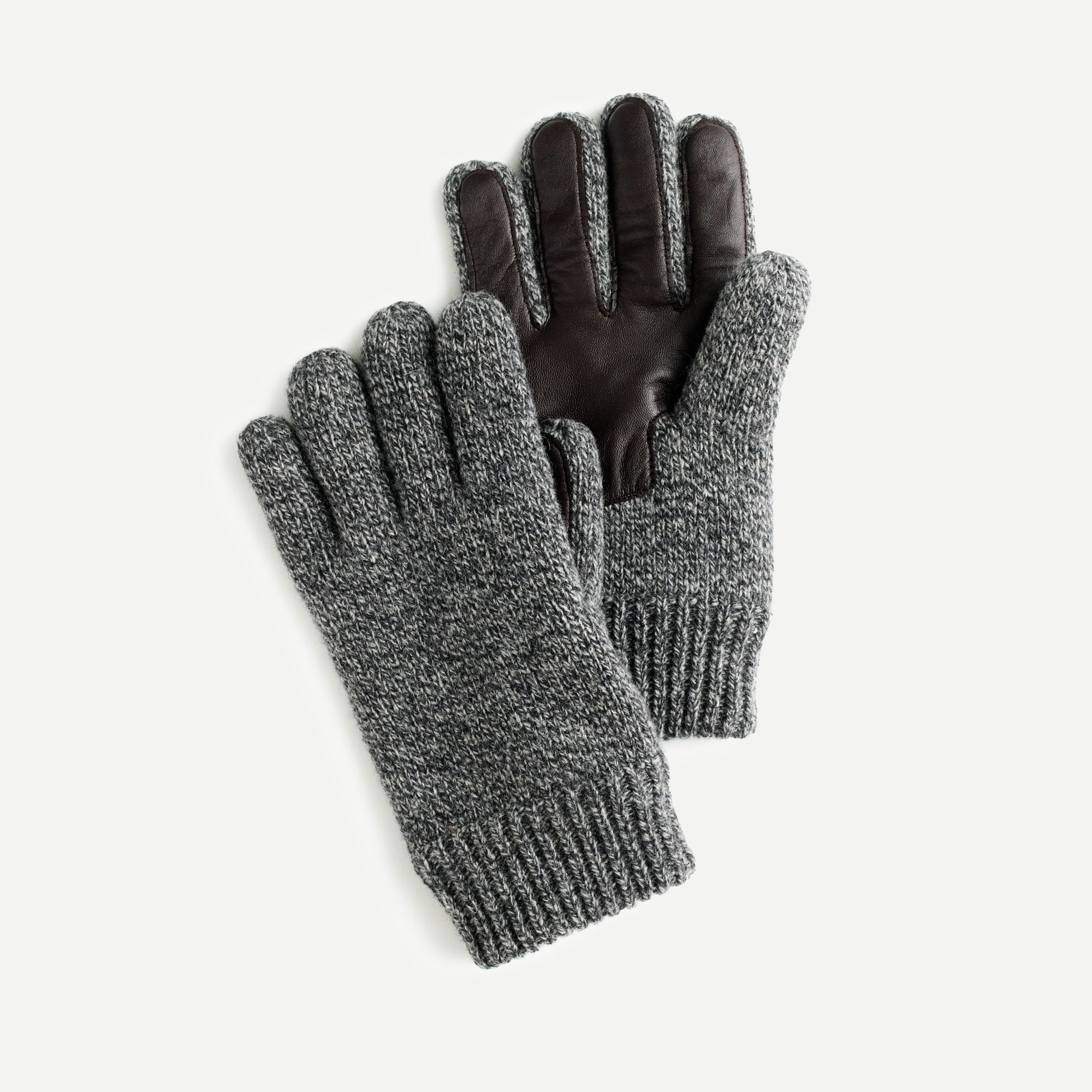 Wool smartphone gloves