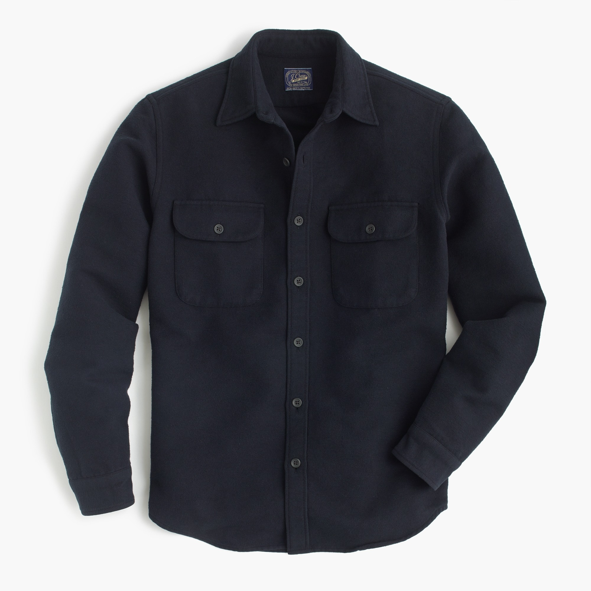 slim heavyweight chamois shirt : men's shirts