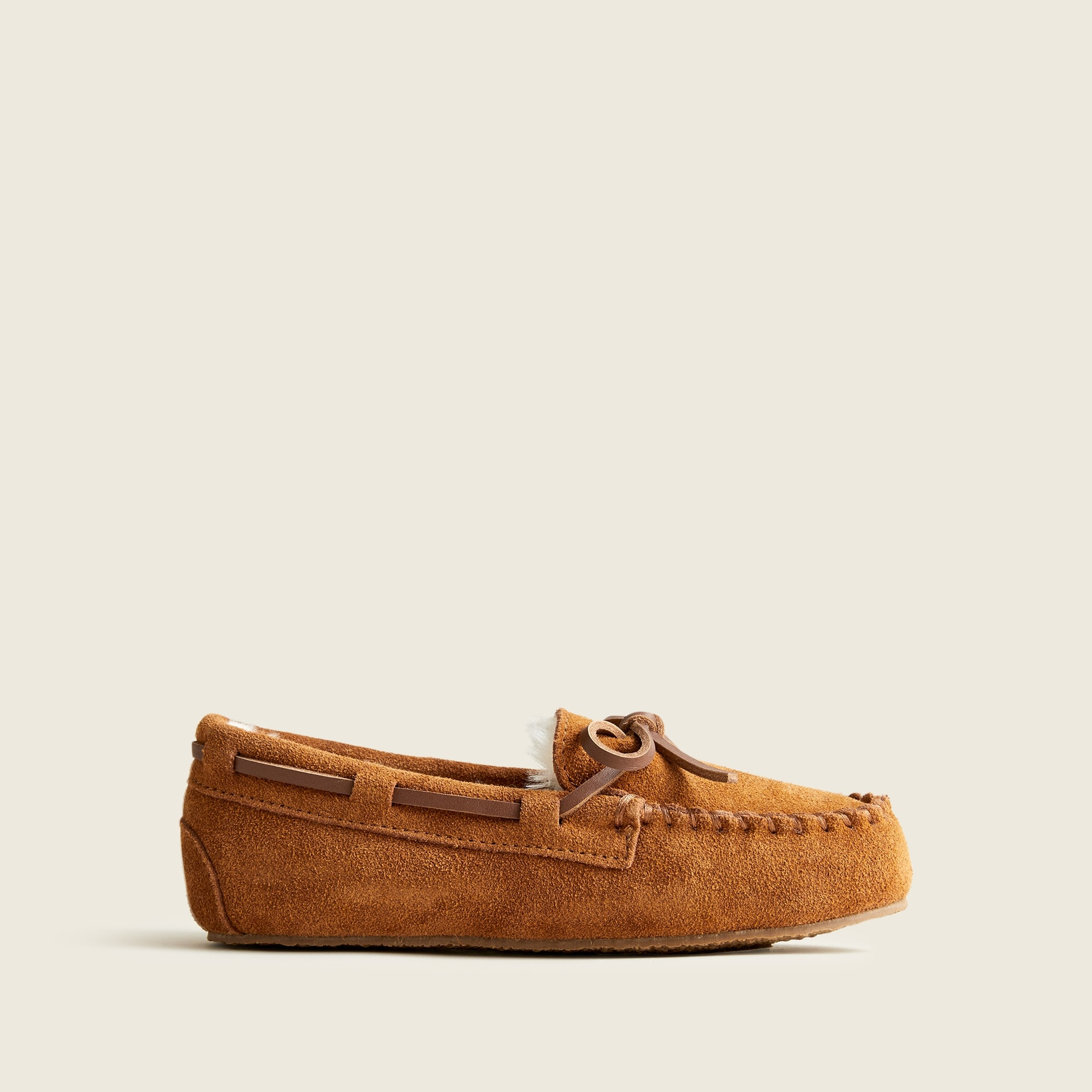 boys Kids' shearling lodge moccasins