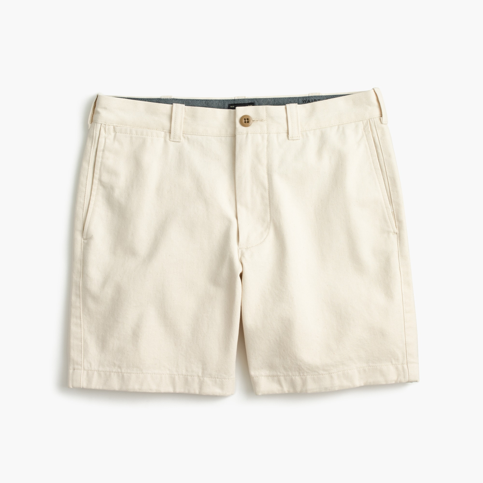 "7"" short in seeded cotton : men's shorts"