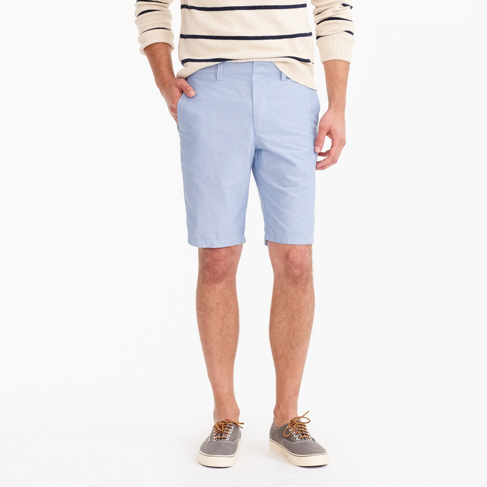 "10.5"" solid oxford short : men's shorts"
