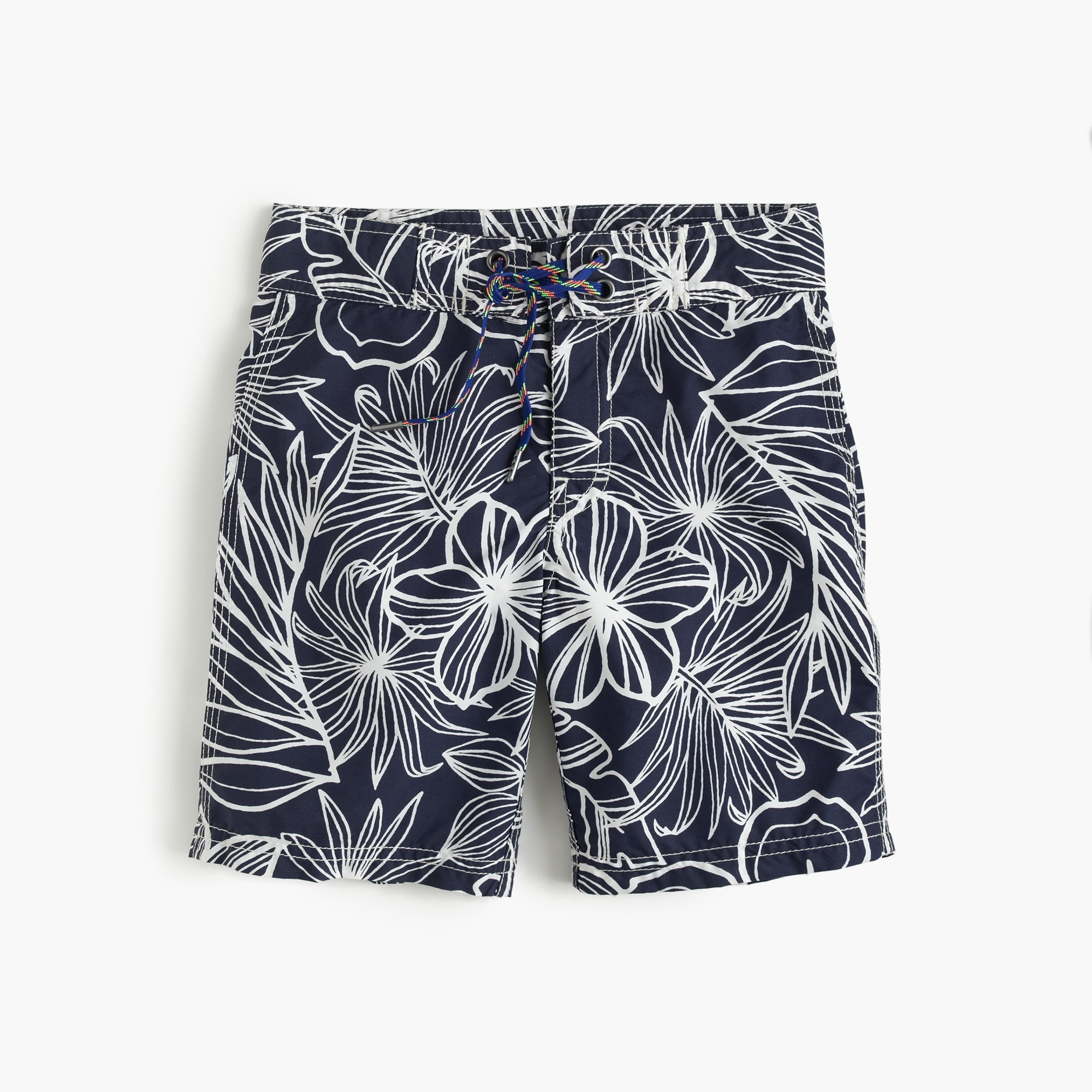 boys' board short in halani floral : boys' swim