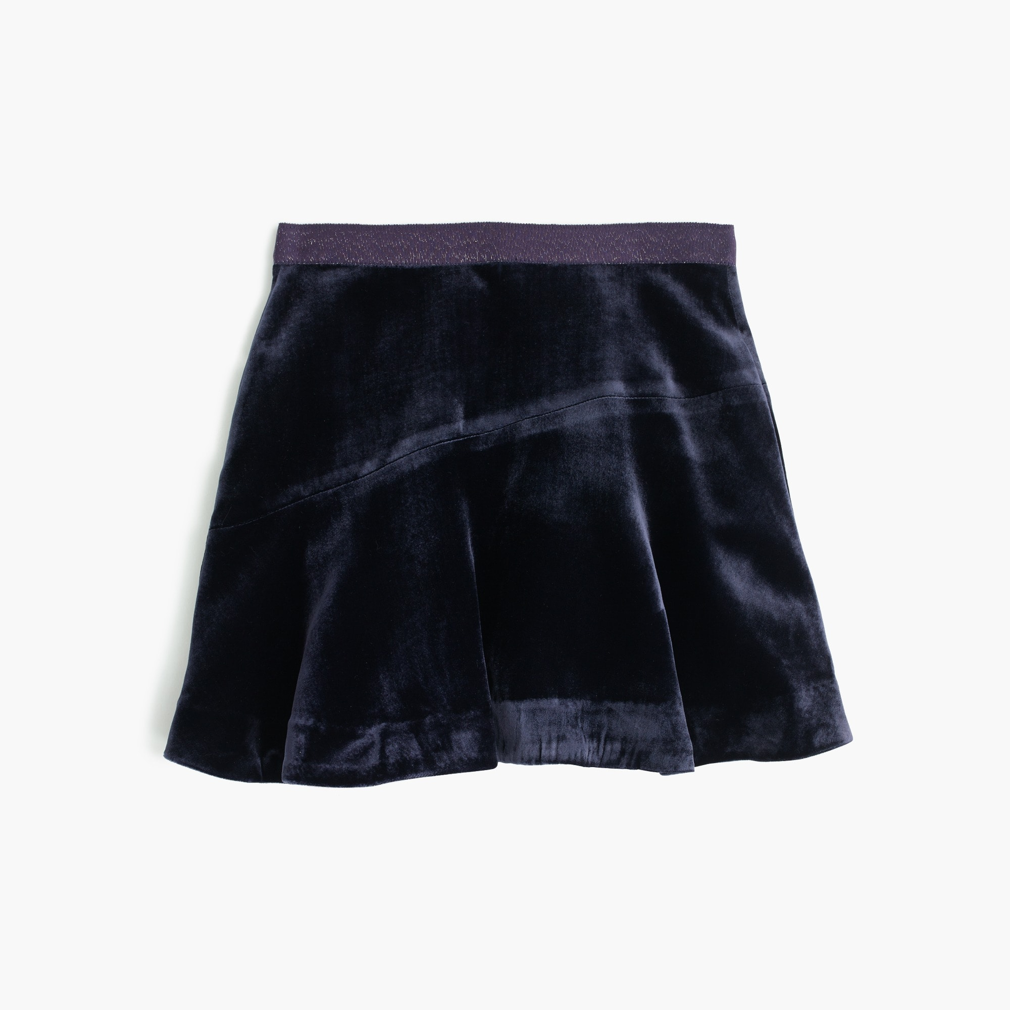 girls' velvet skirt : girls' skirts